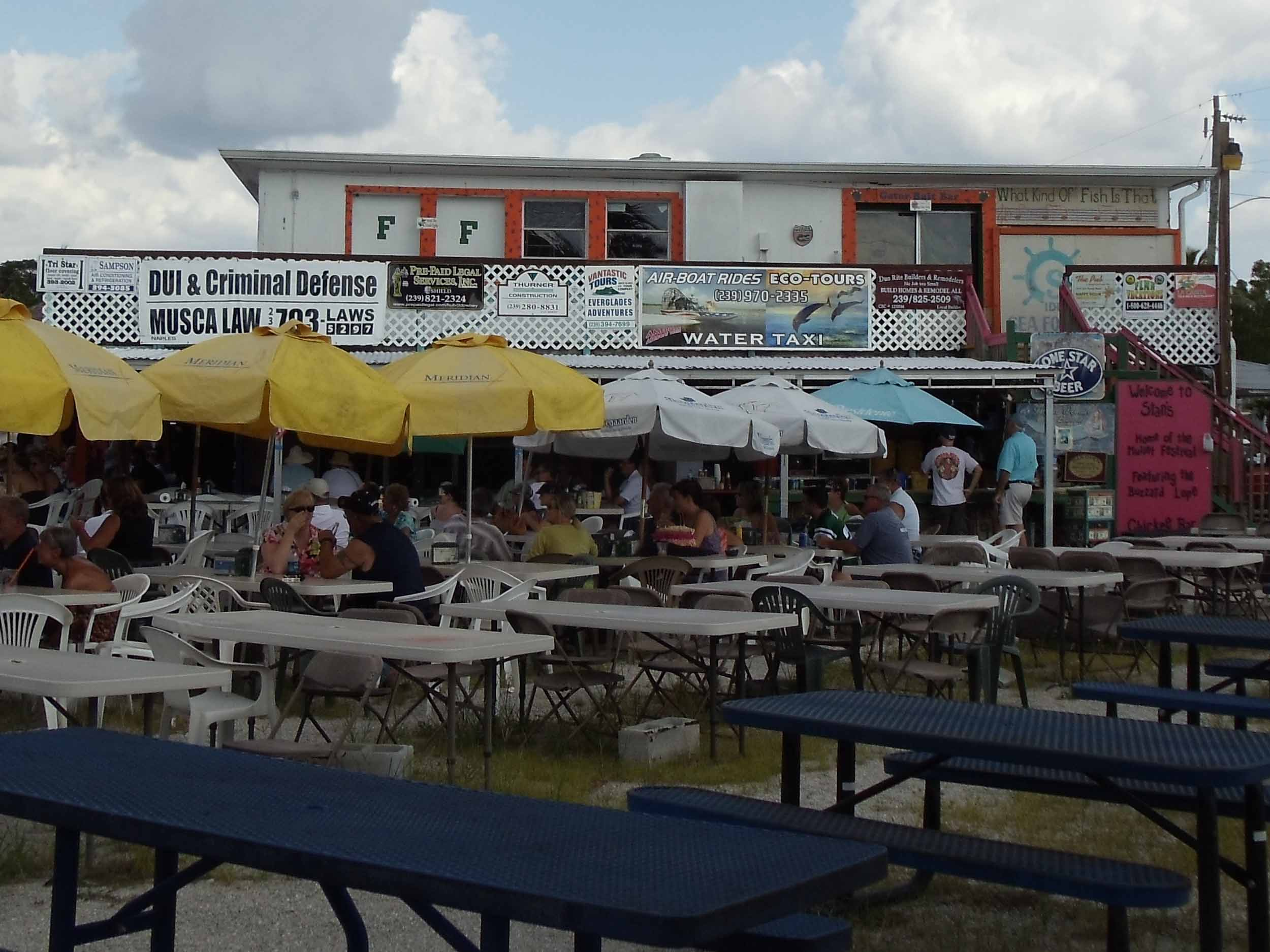 Stan's Idle Hour Seating Area