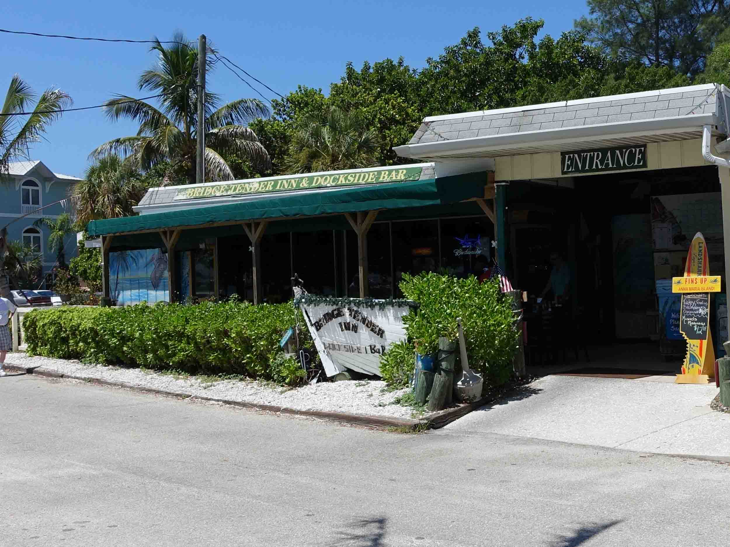Bridge Tender Inn and Dockside Bar Entrance