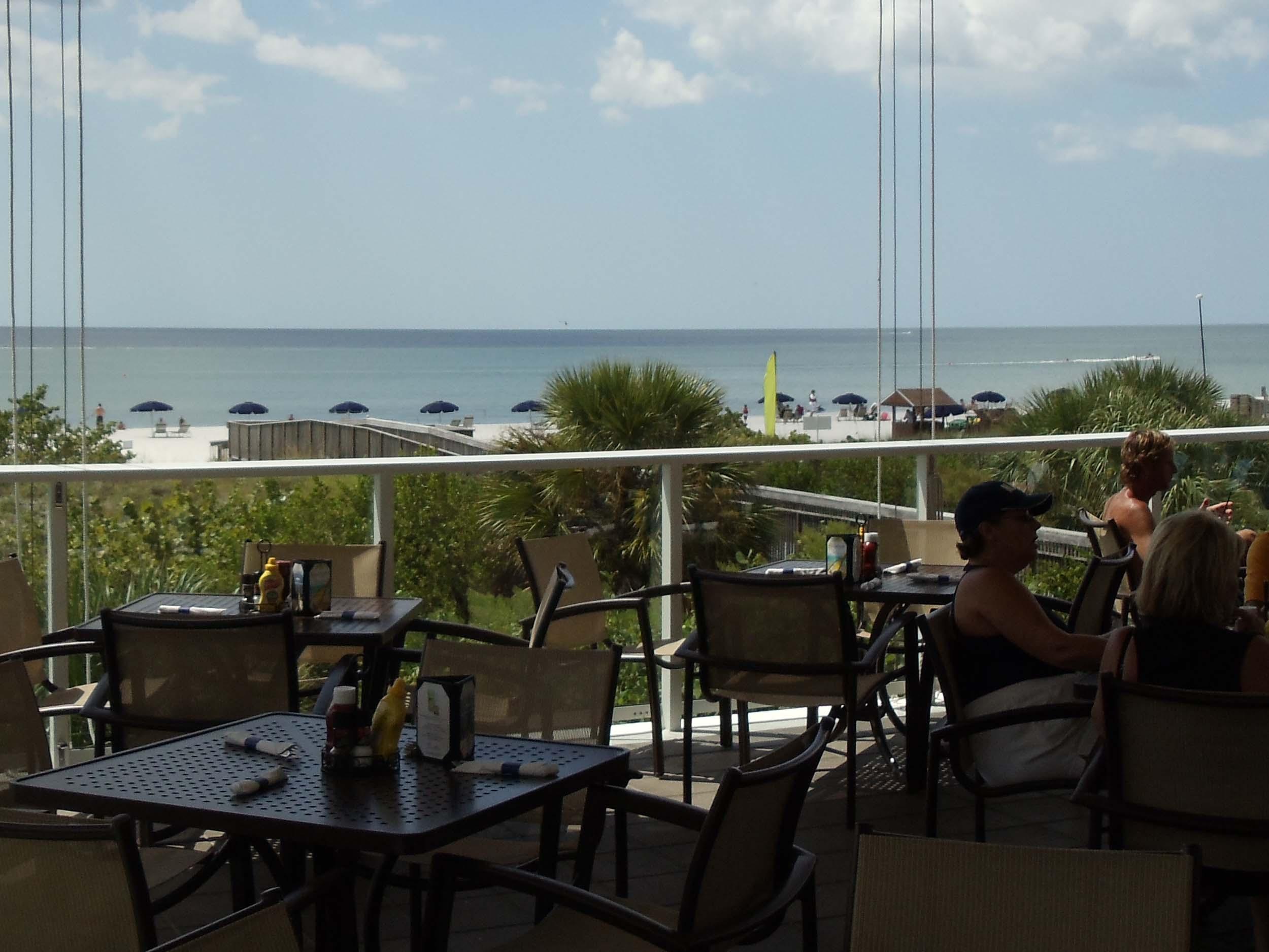 Stilts Beachside Bar and Grill Beach View