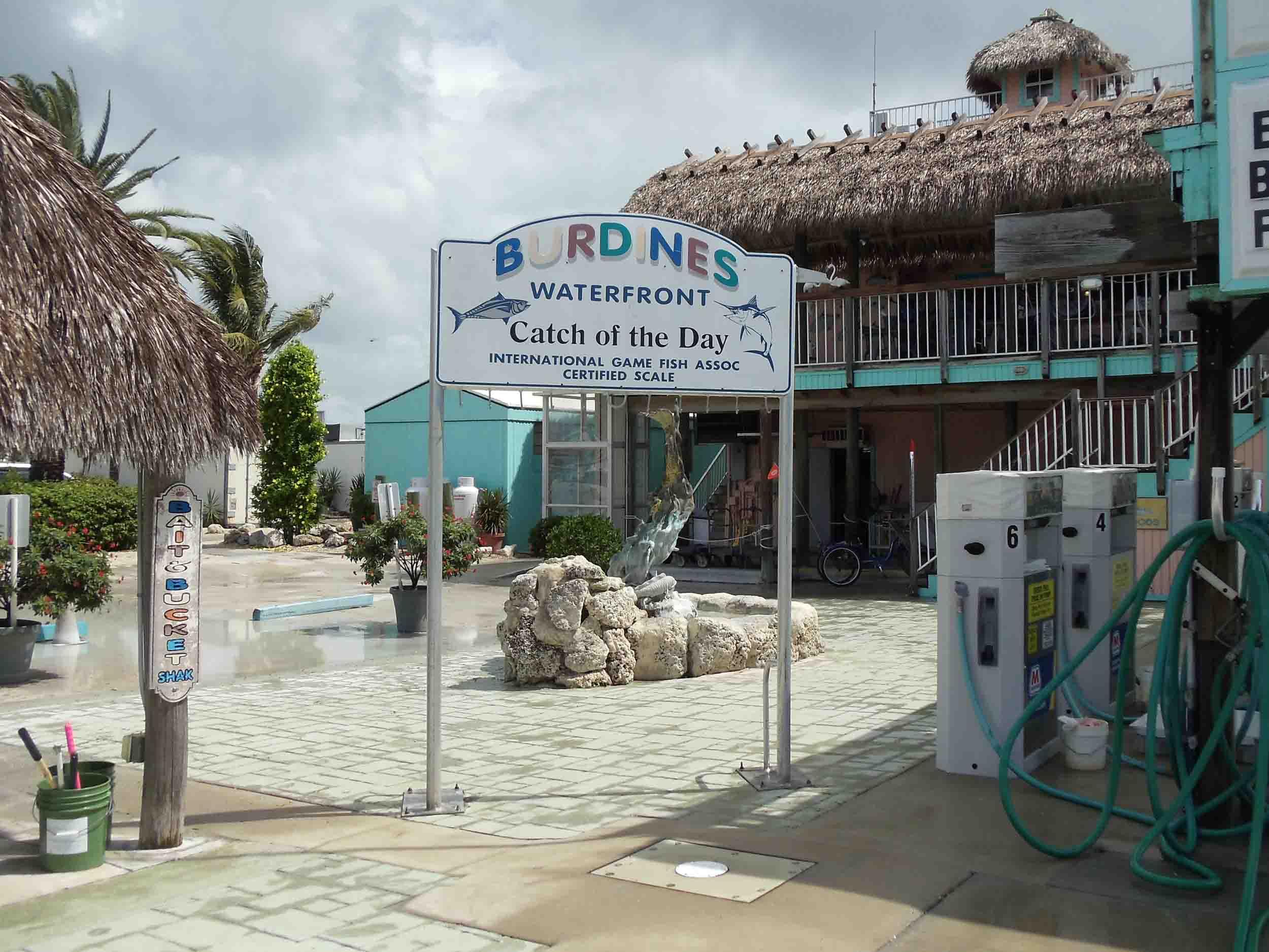 Burdines Waterfront ChikiTiki Bar Entrance