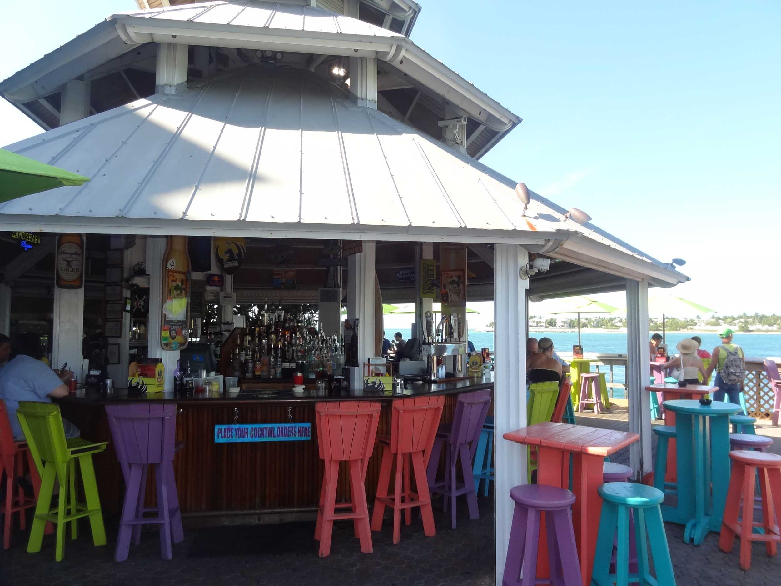 Sunset Pier Bar Area