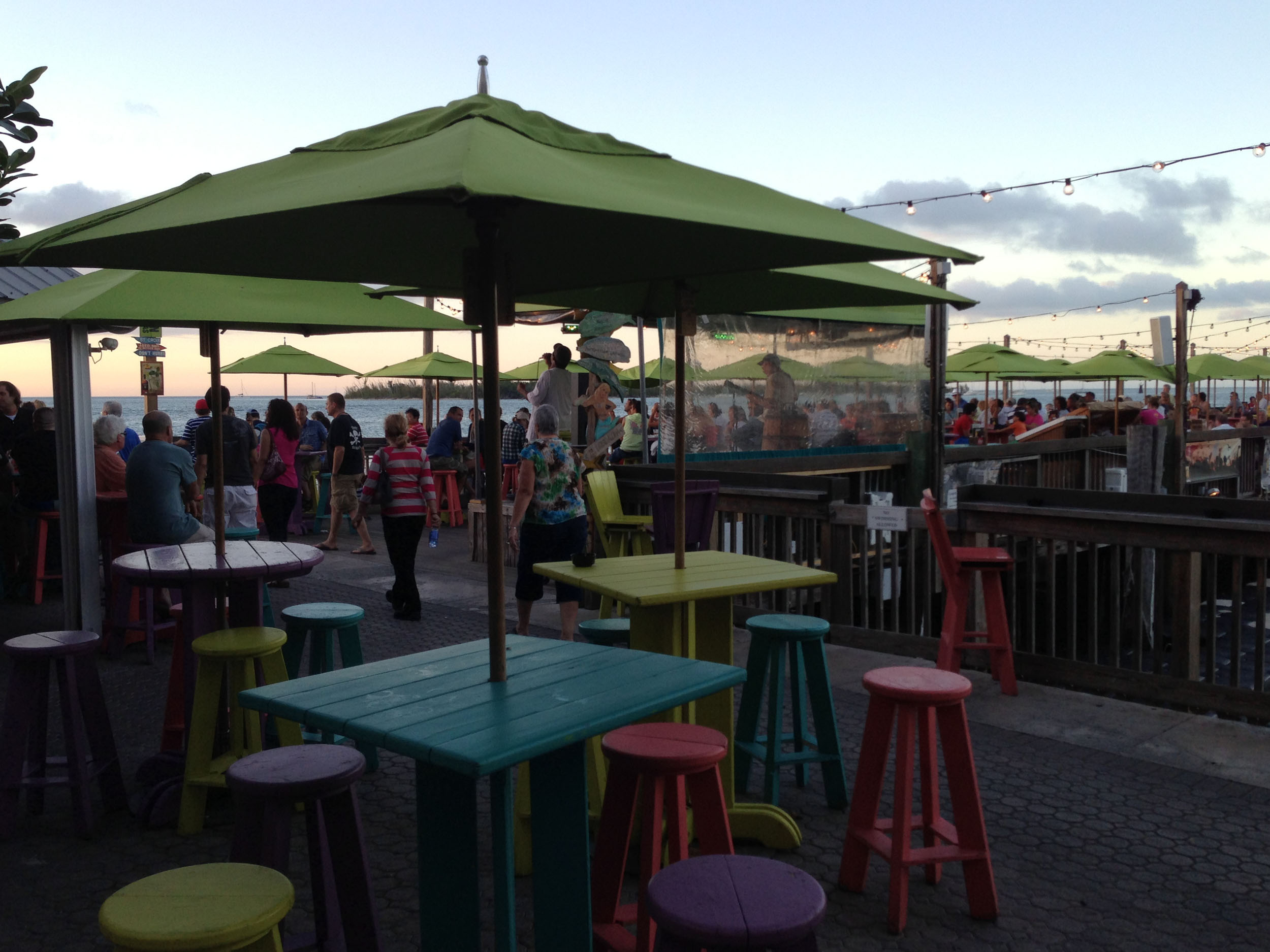 Sunset Pier Dining Area