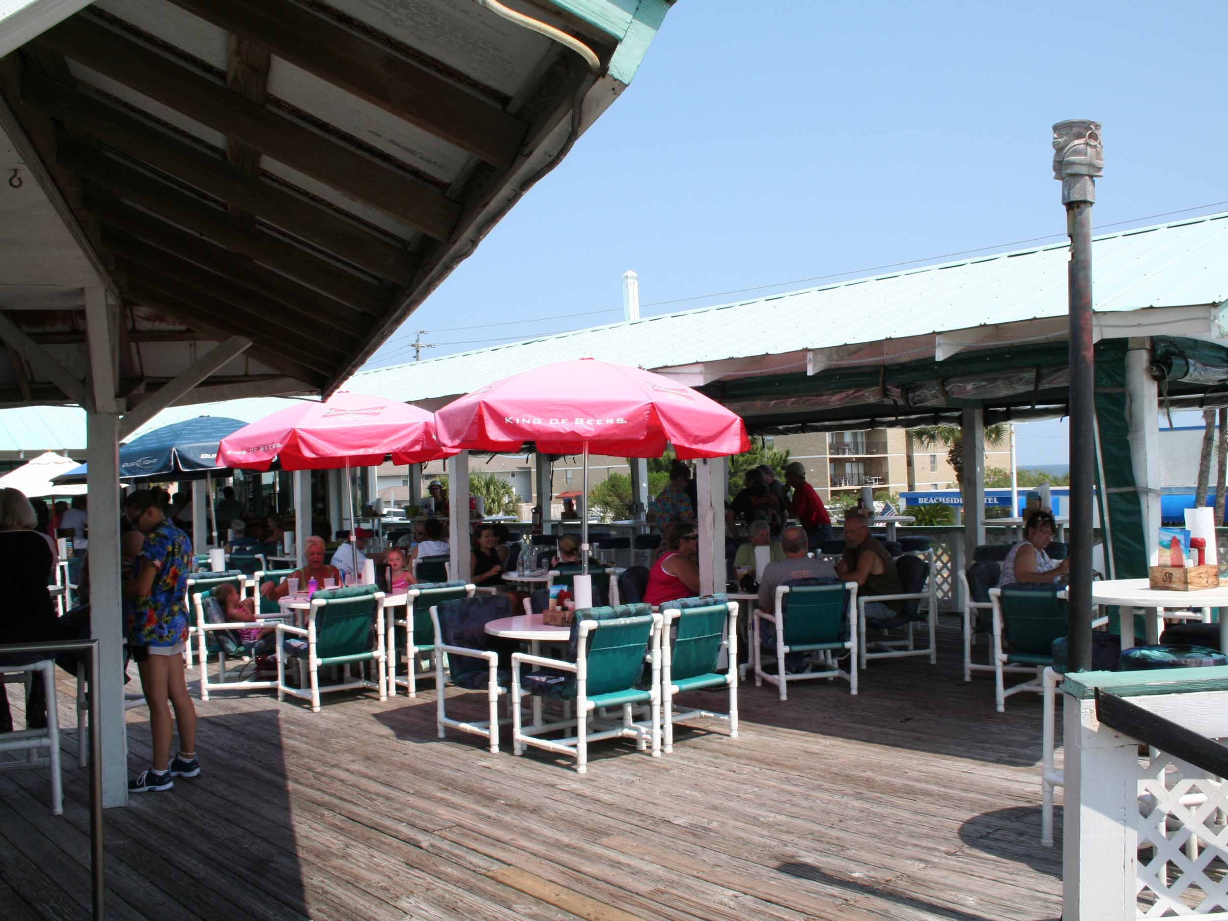 The Surf Restaurant and Bar Seating Area