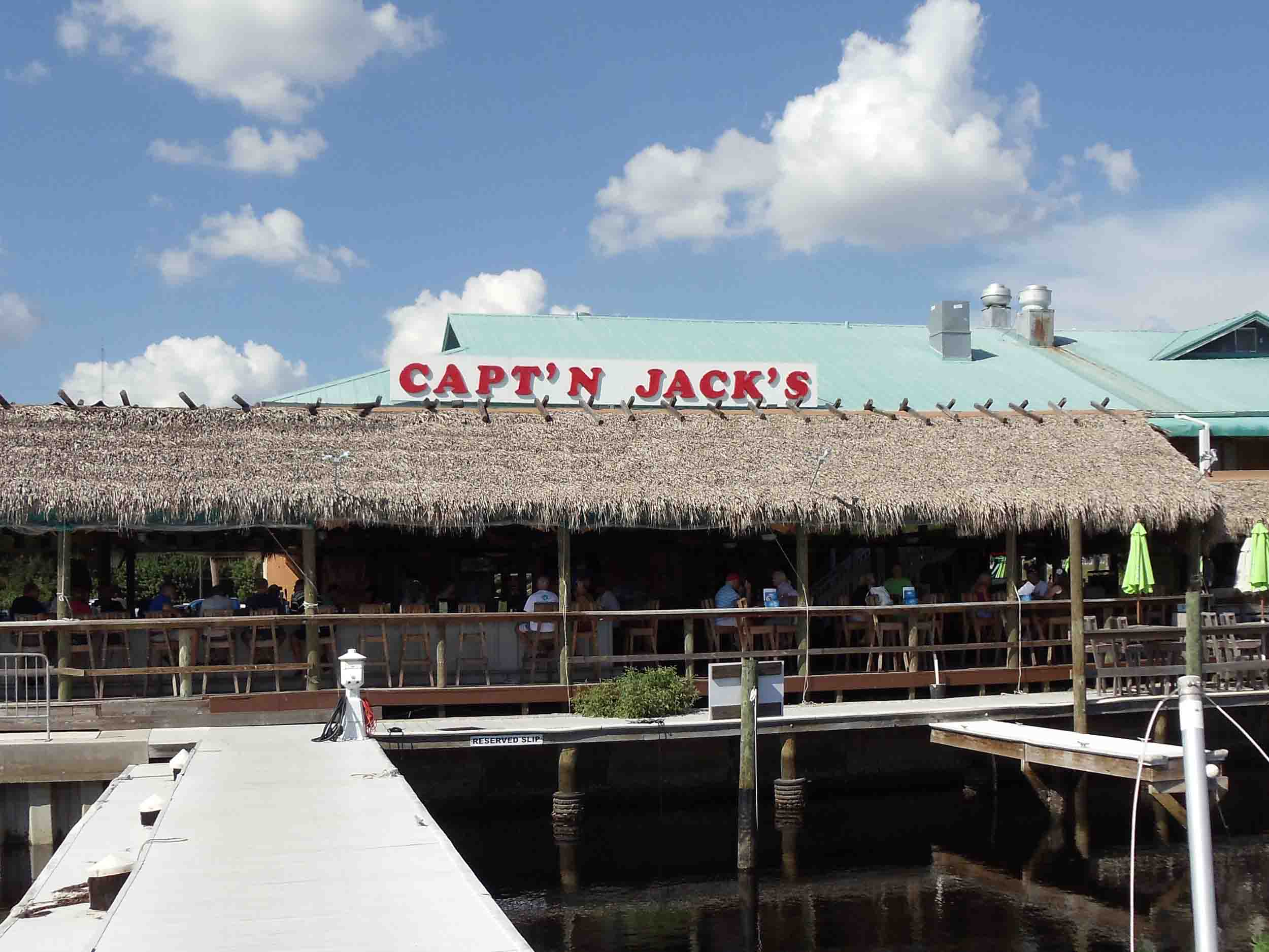 Capt'n Jack's Bar and Grill Exterior