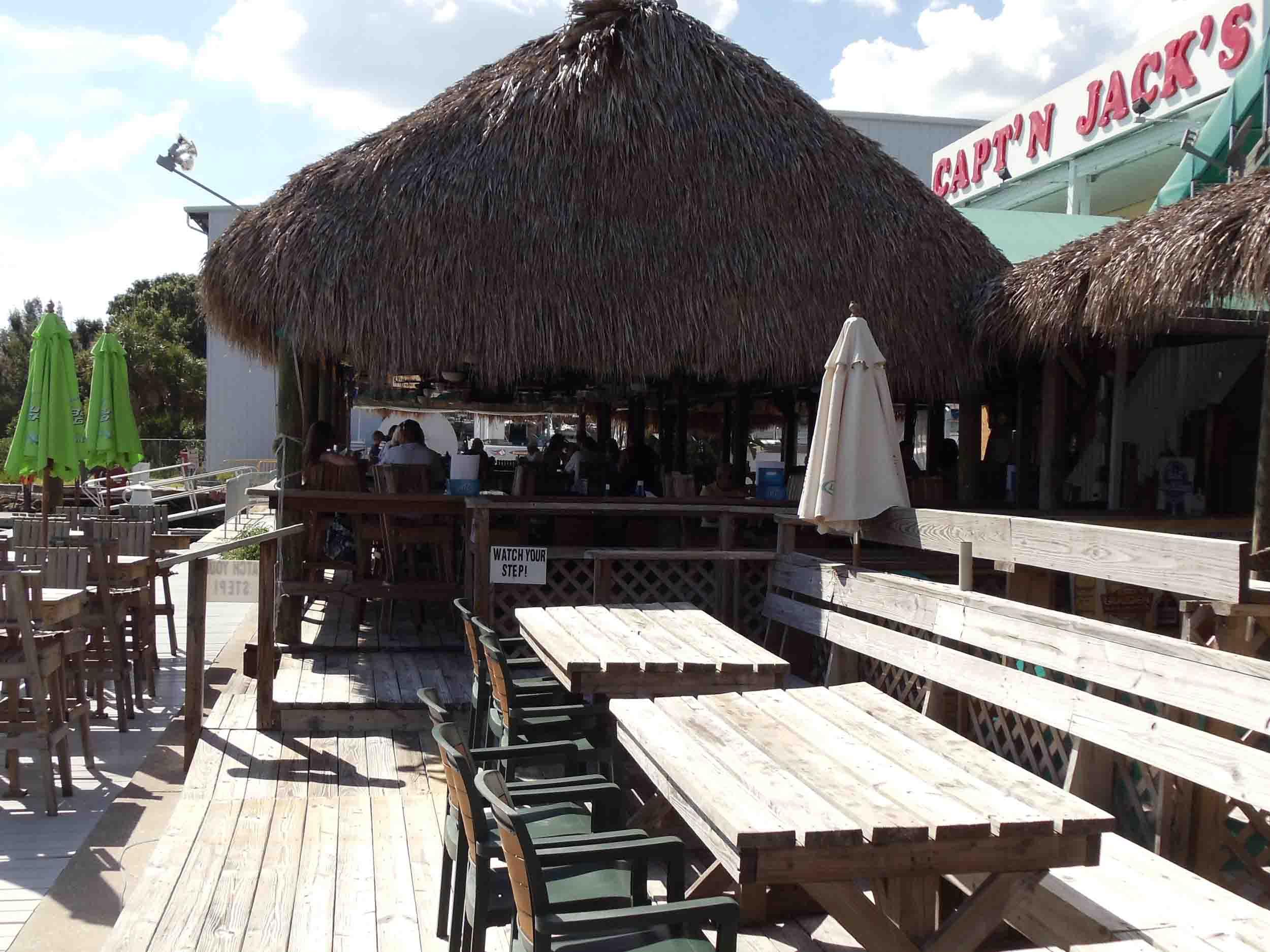 Capt'n Jack's Bar and Grill Tiki Hut