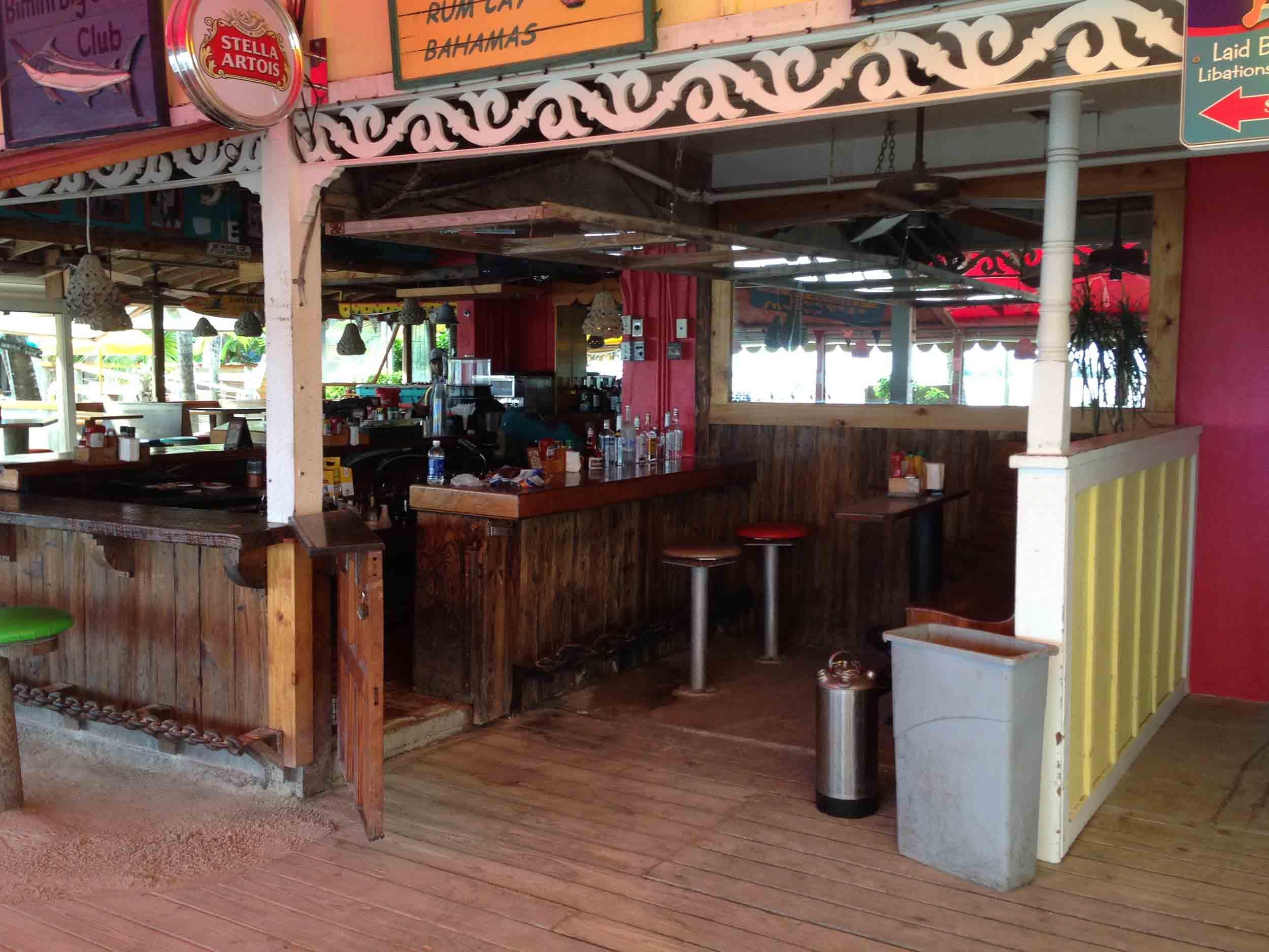 Captain Hiram's Sandbar Interior Bar