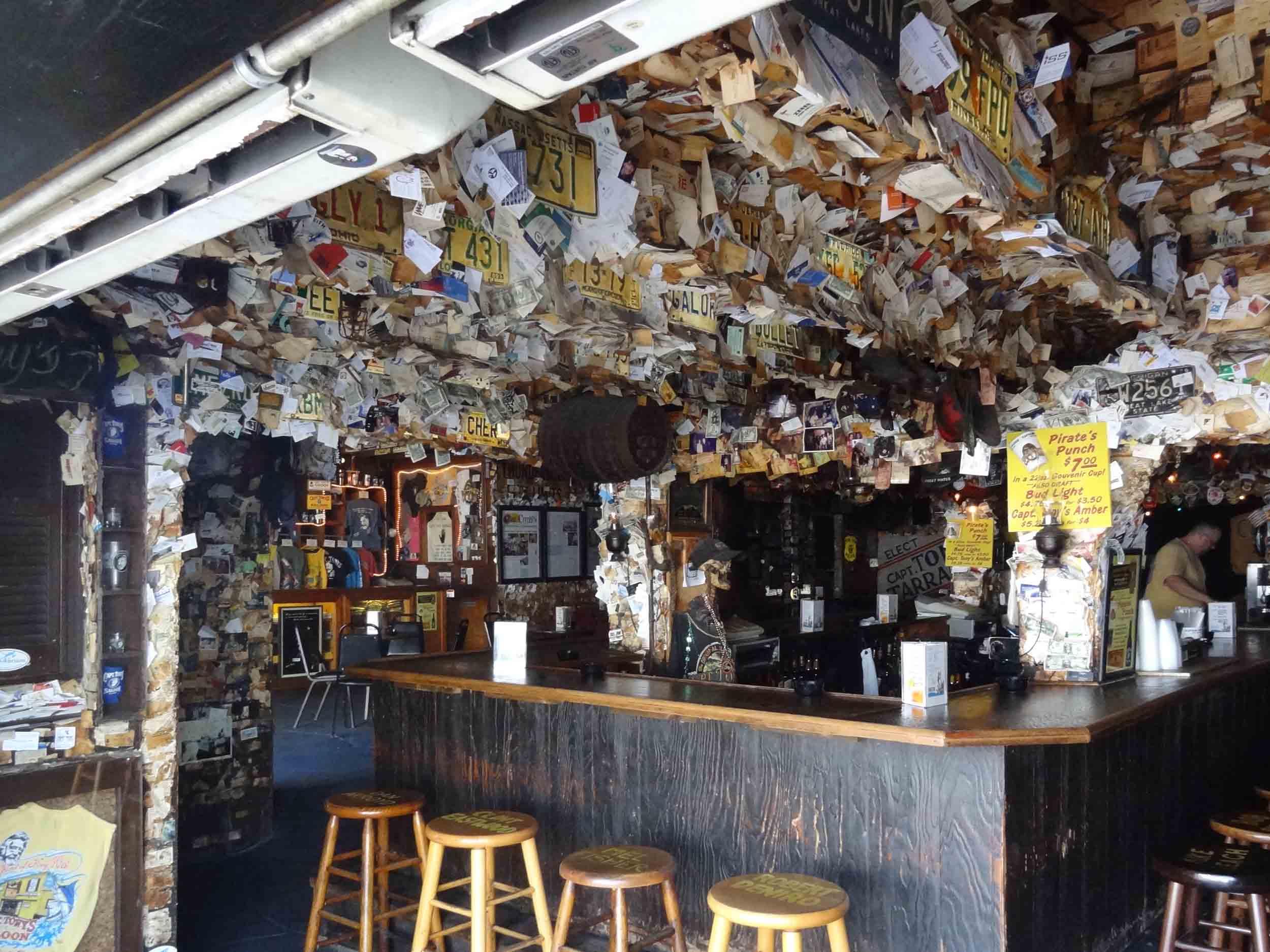 Captain Tony's Saloon Interior Bar