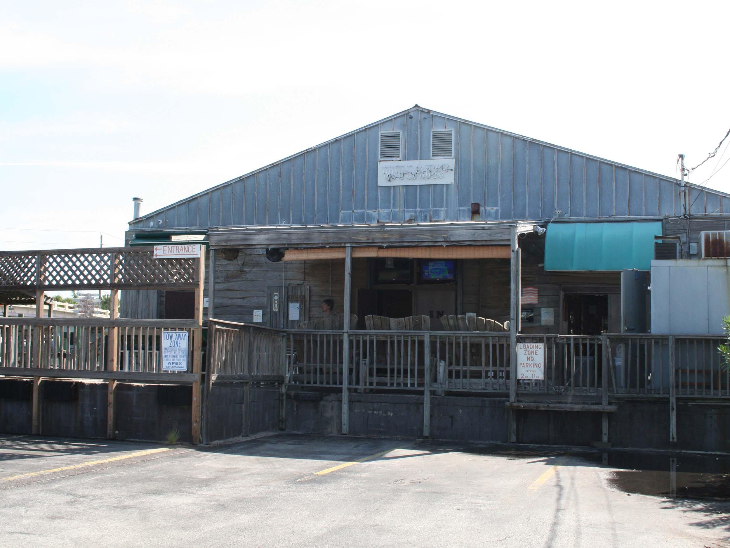 The Wharf Restaurant Exterior