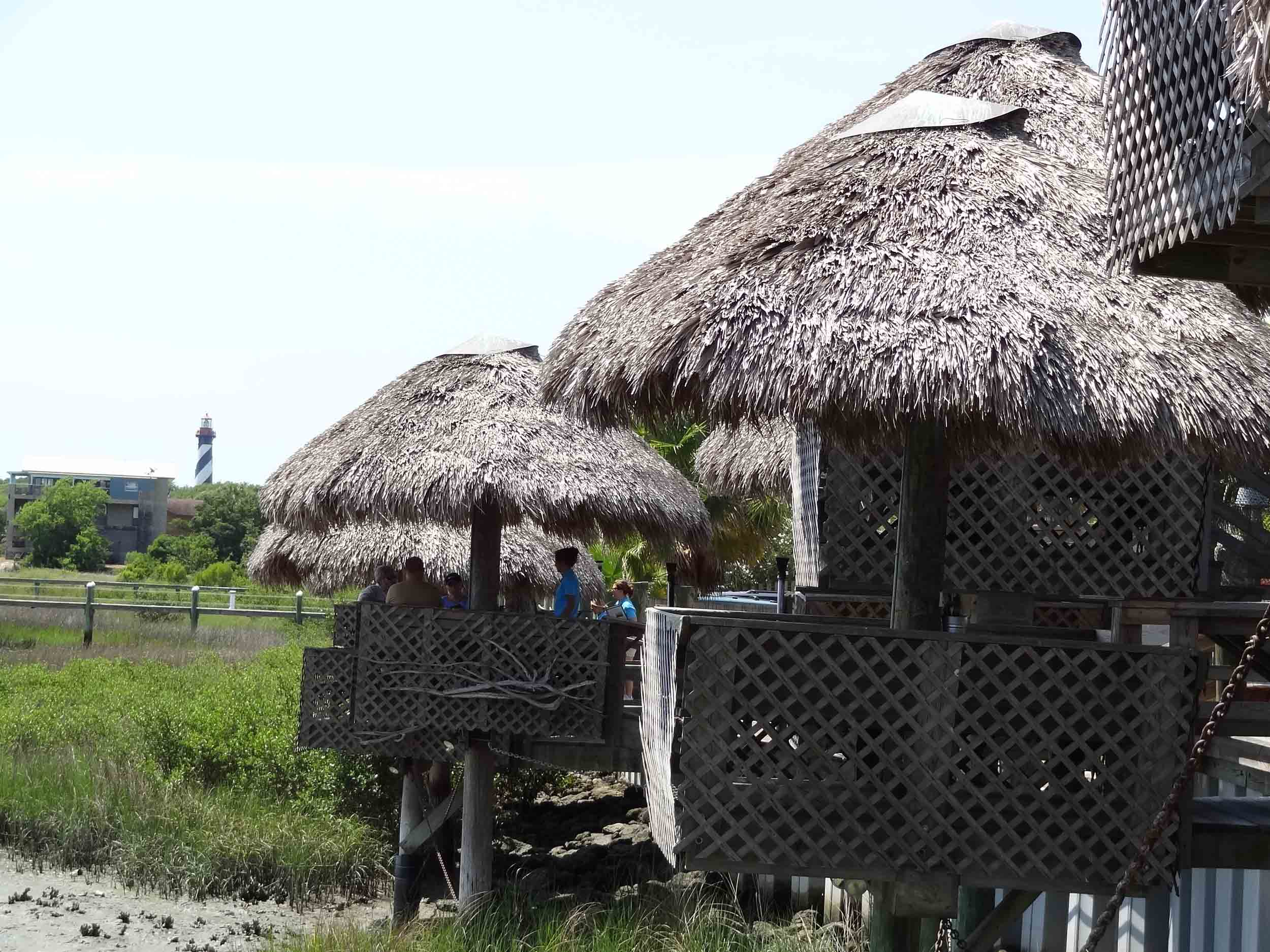 Conch House Tiki Seating Areas