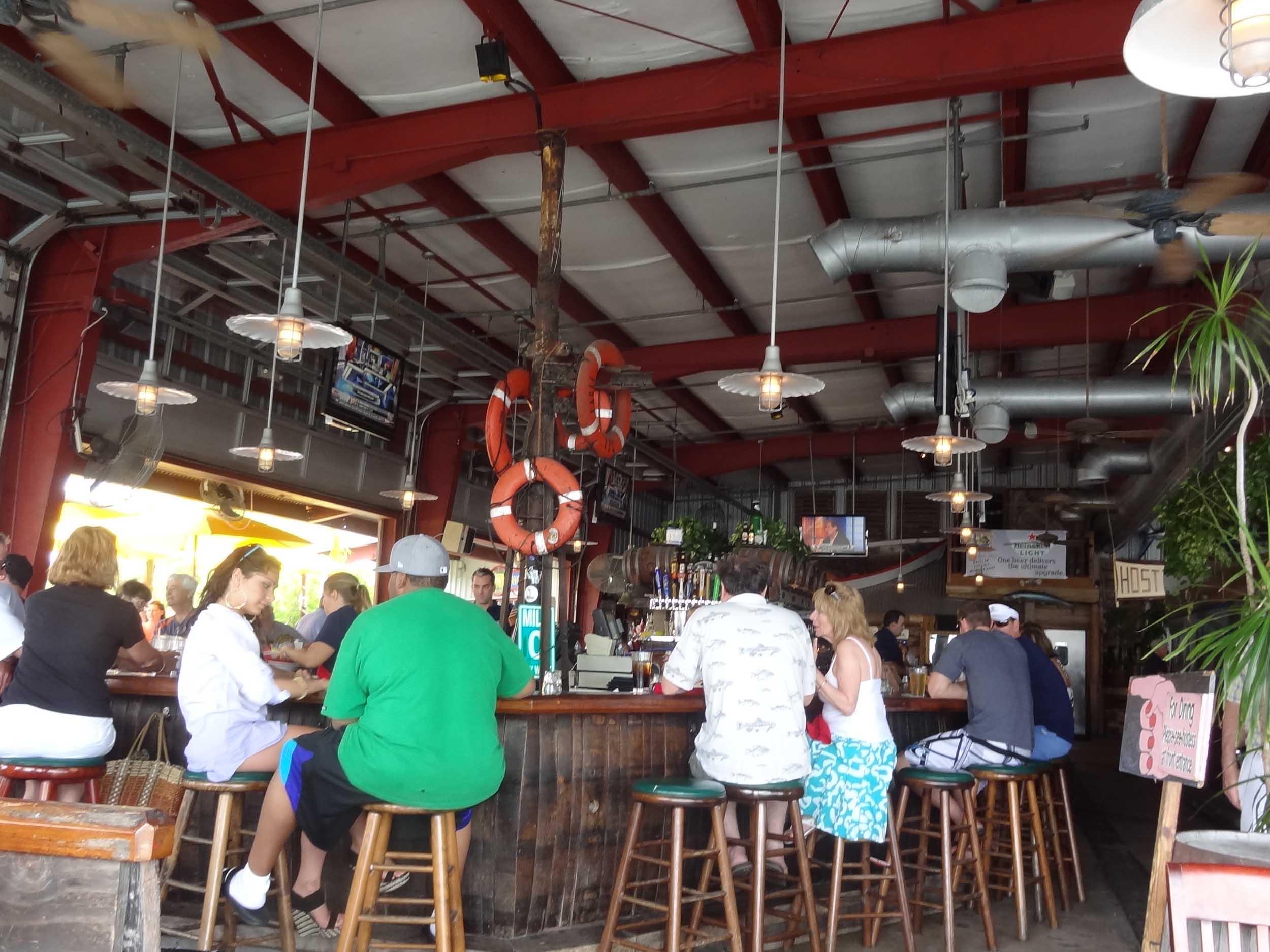 Conch Republic Seafood Company Interior Bar