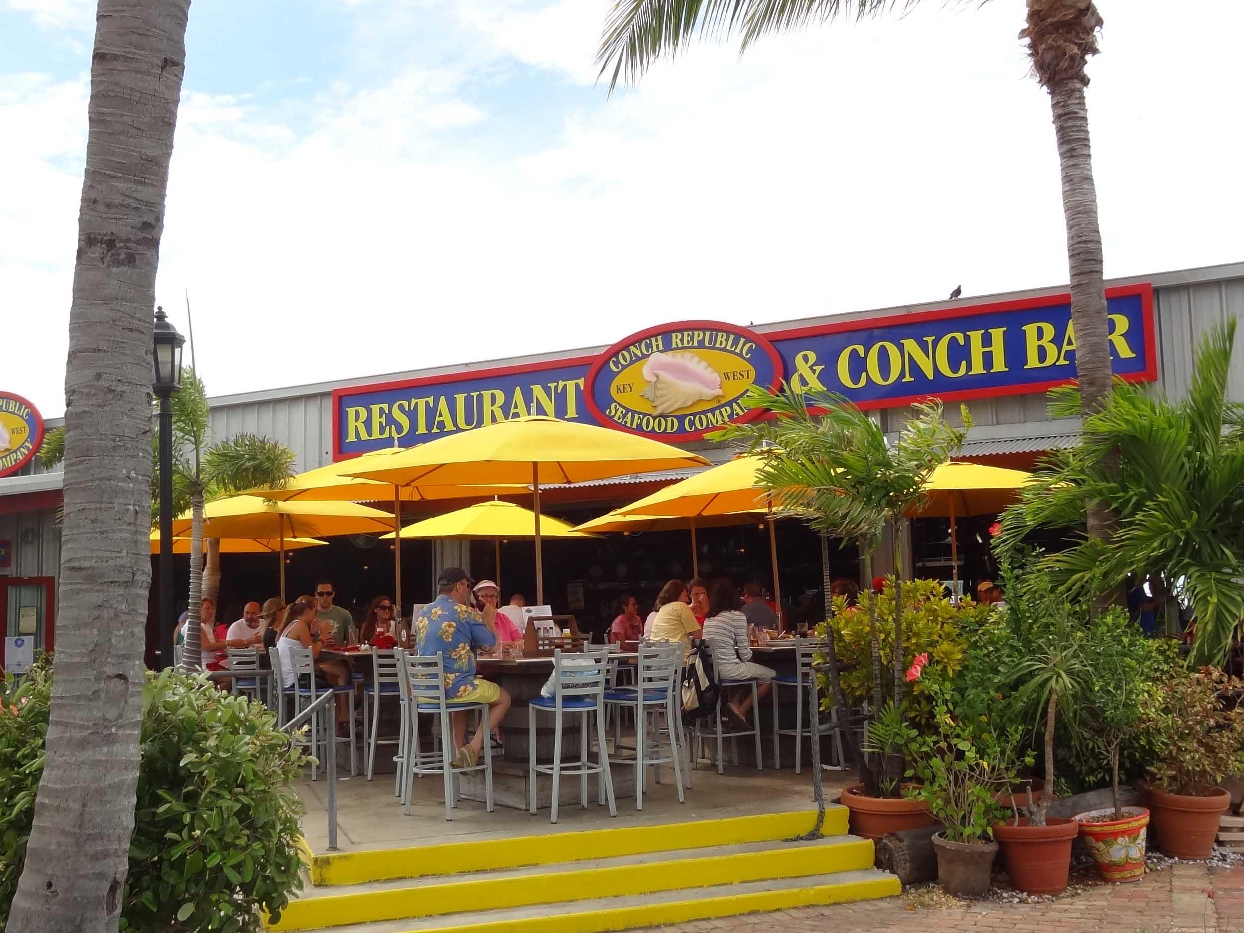 Conch Republic Seafood Company Outside Patio