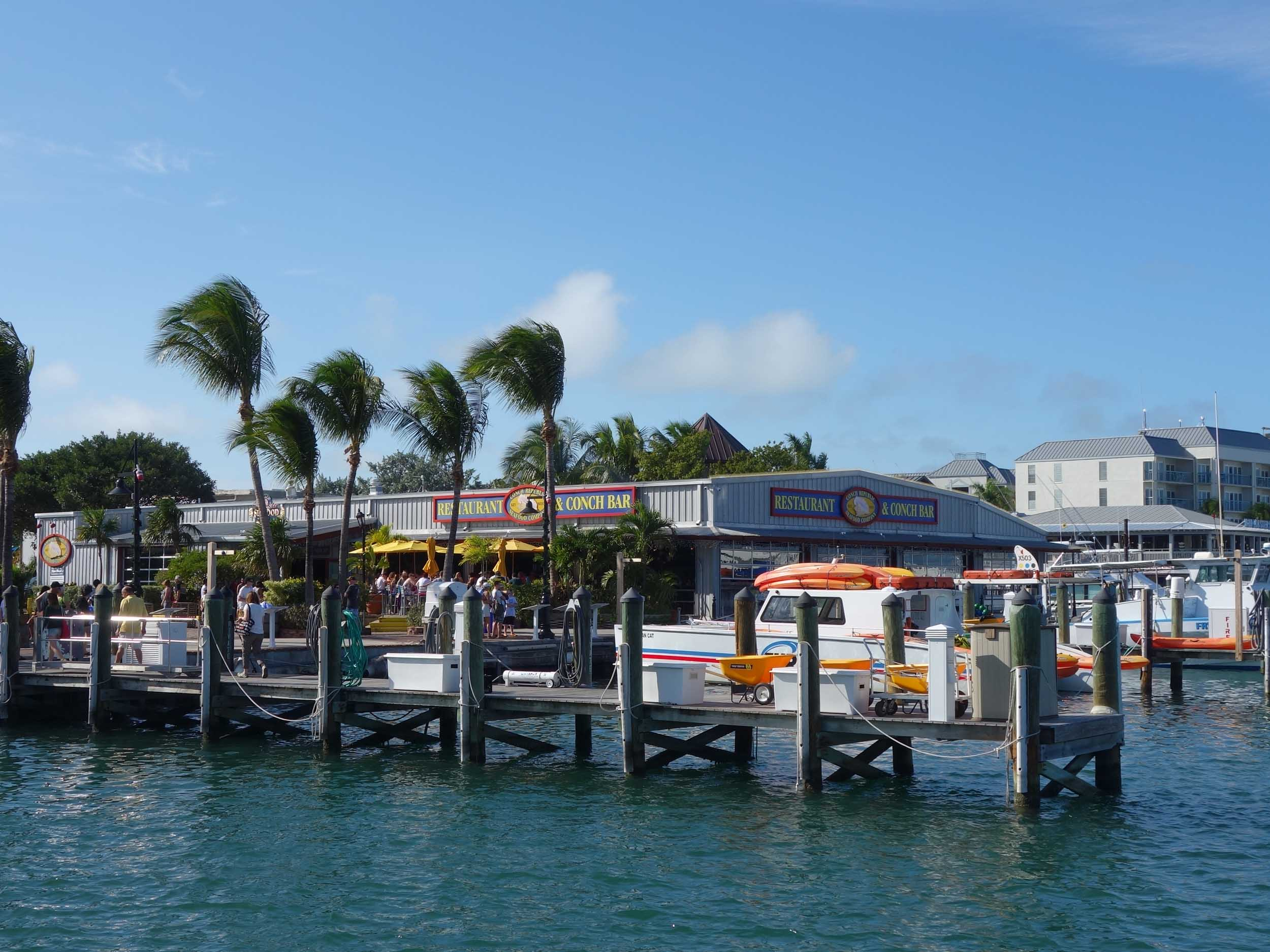 Conch Republic Seafood Company Water View