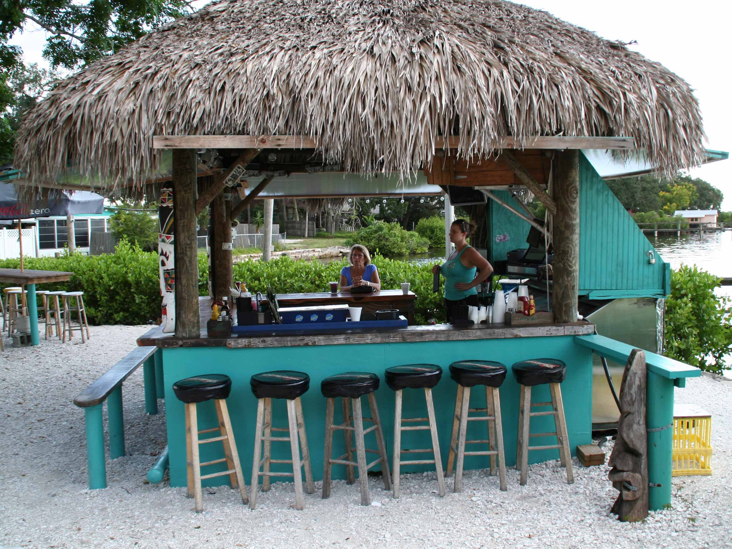 Woody's River Roo Pub and Grill Tiki Bar