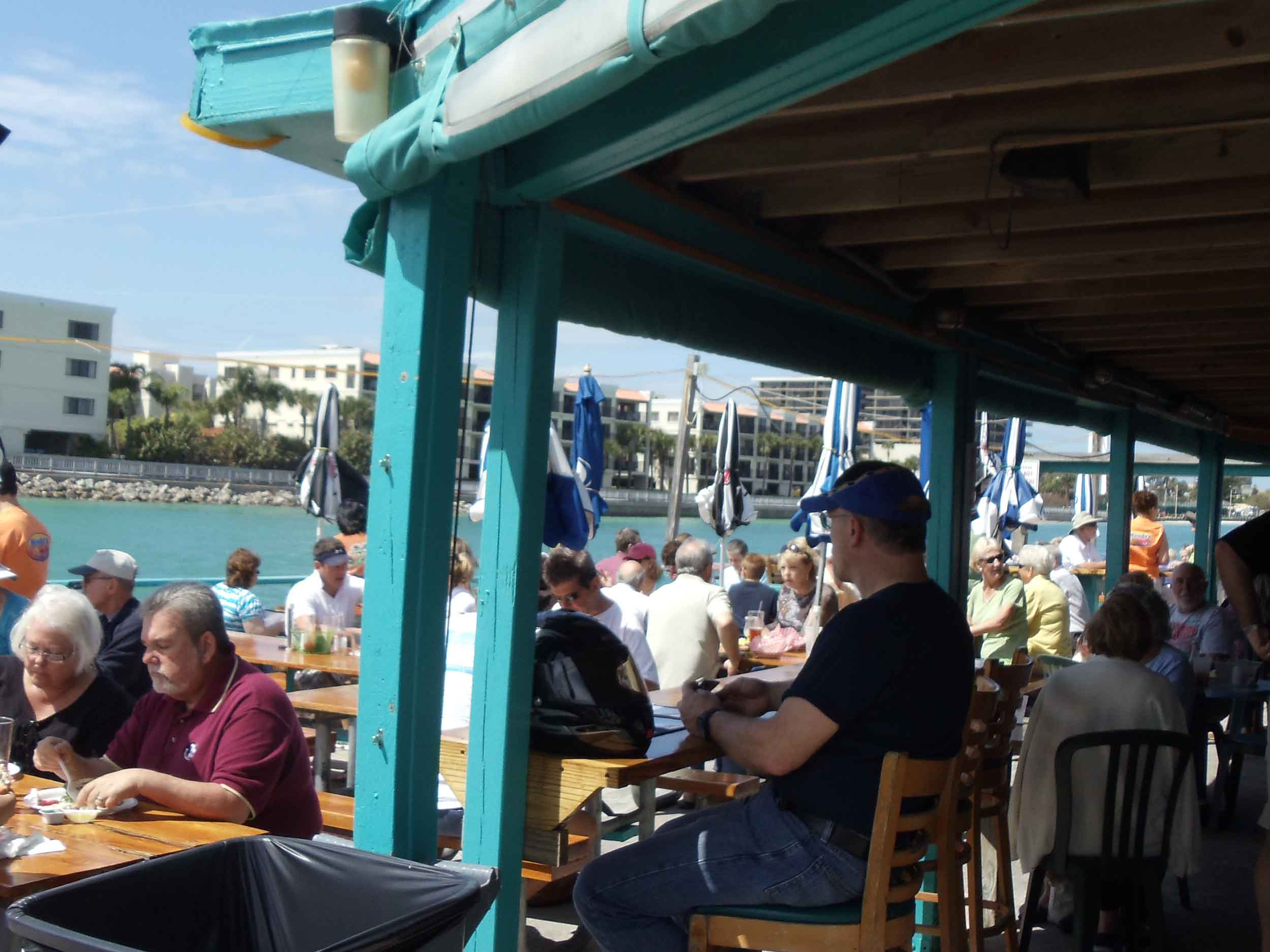 Woody's Waterfront Outdoor Restaurant View