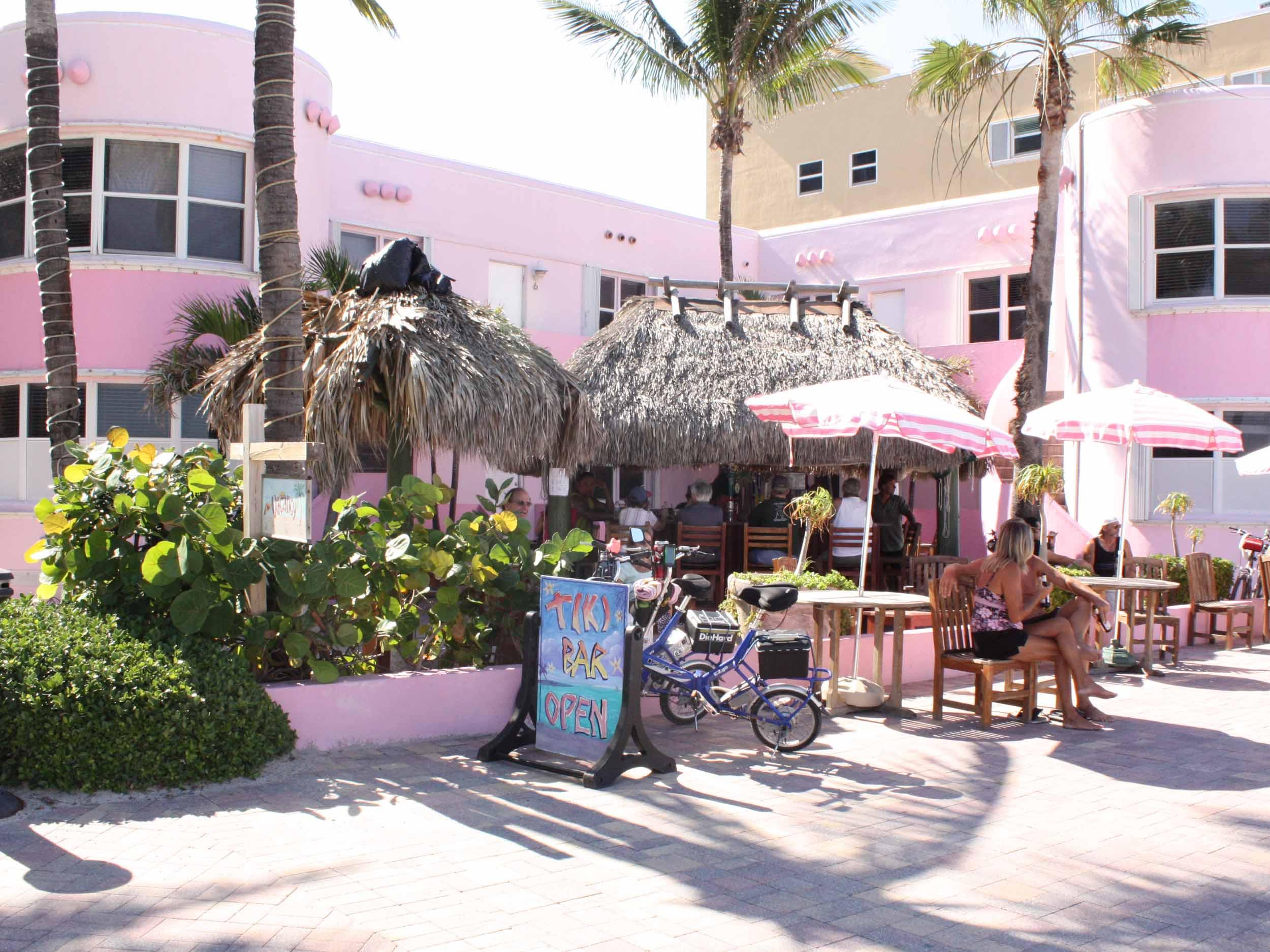 Tiki Bar at the Walkabout Beach Resort Exterior