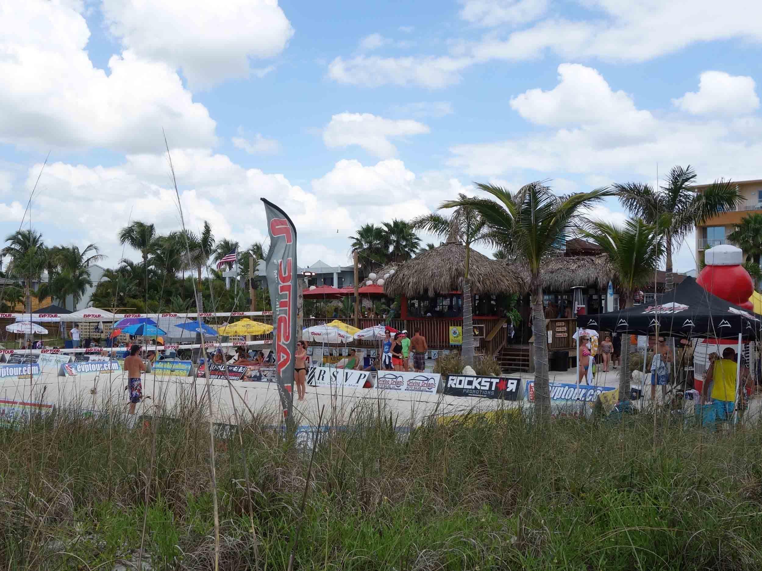 Toasted Monkey Beach Bar View