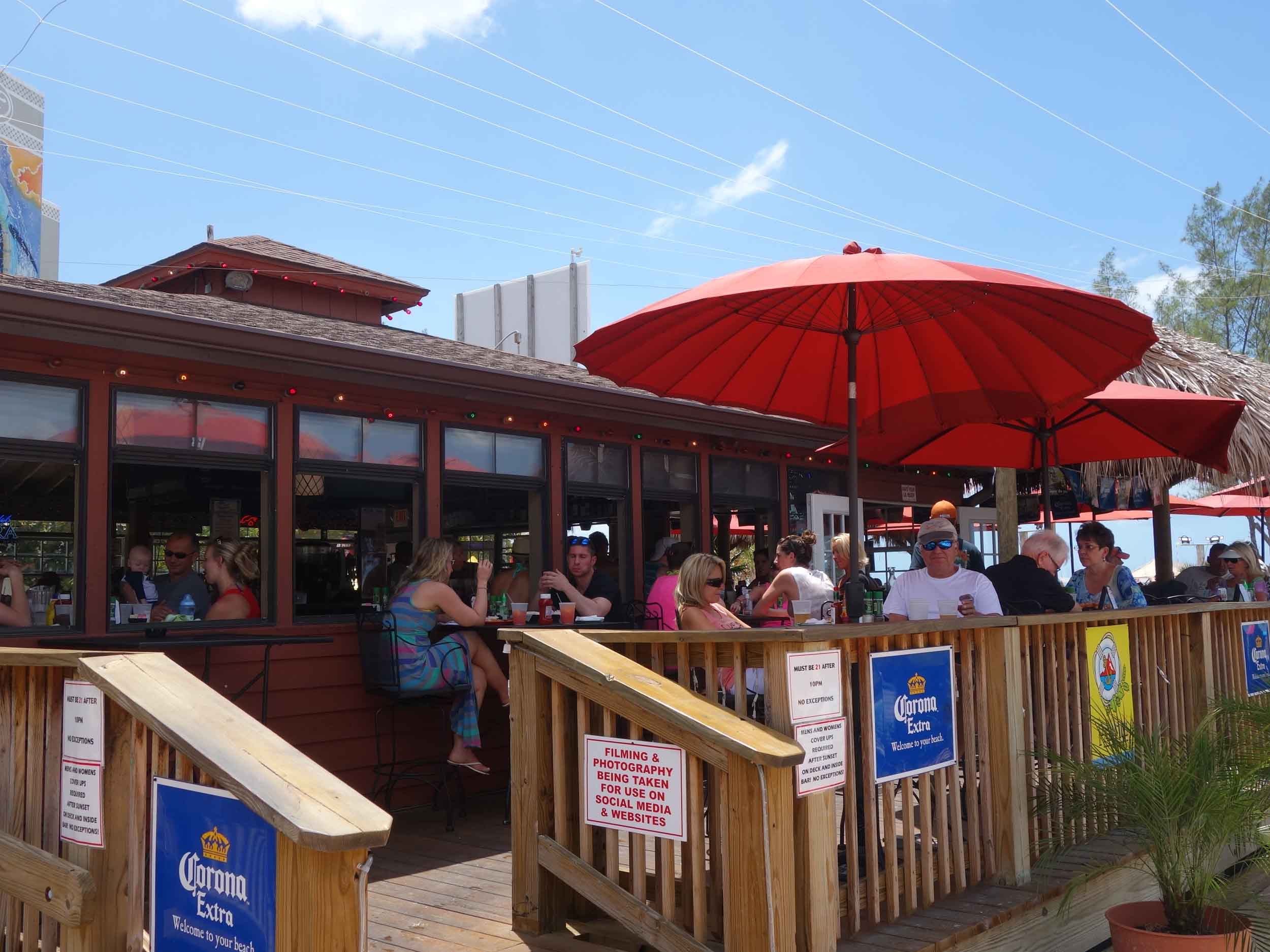 Toasted Monkey Beach Bar Exterior