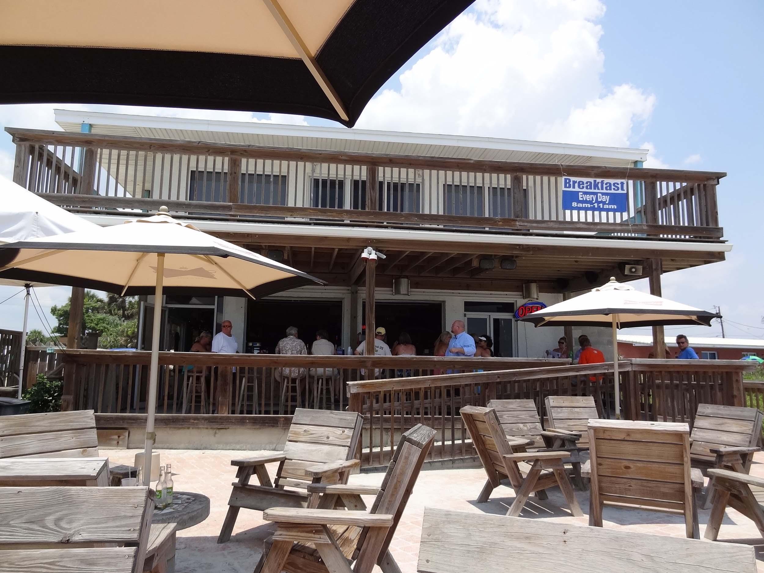 Toni and Joe's Patio Bar and Seating Area