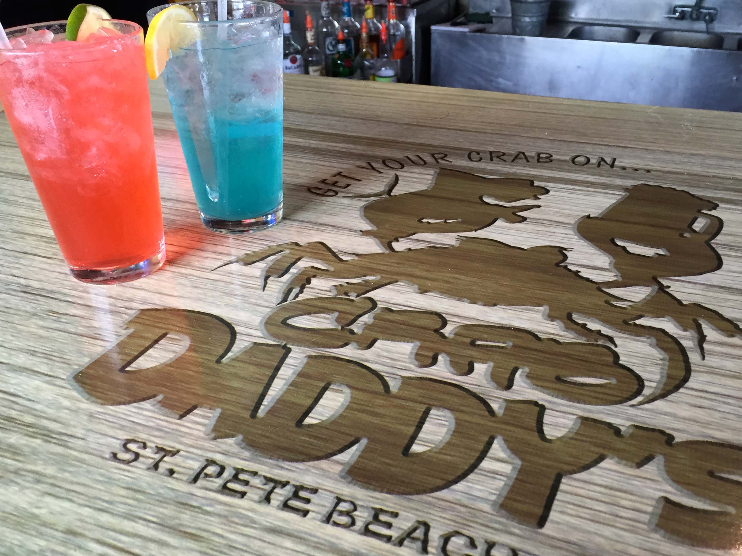 Crab Daddy's Drinks