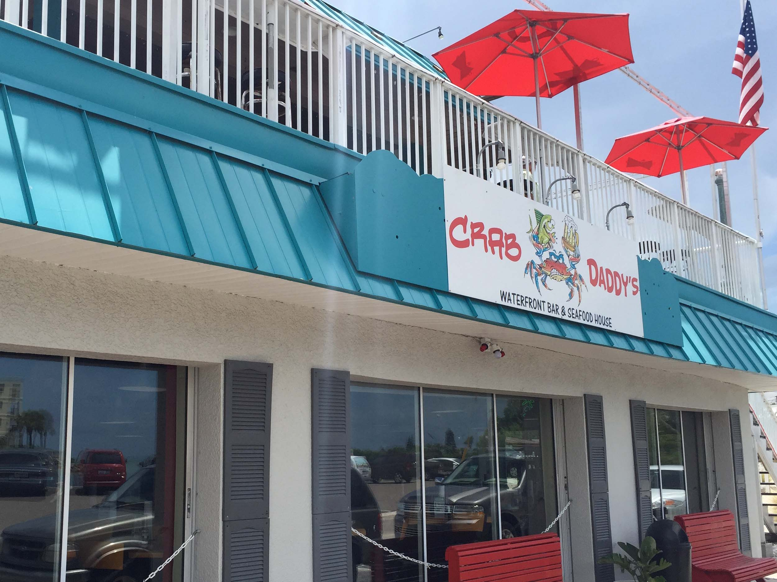 Crab Daddy's Upstairs Patio