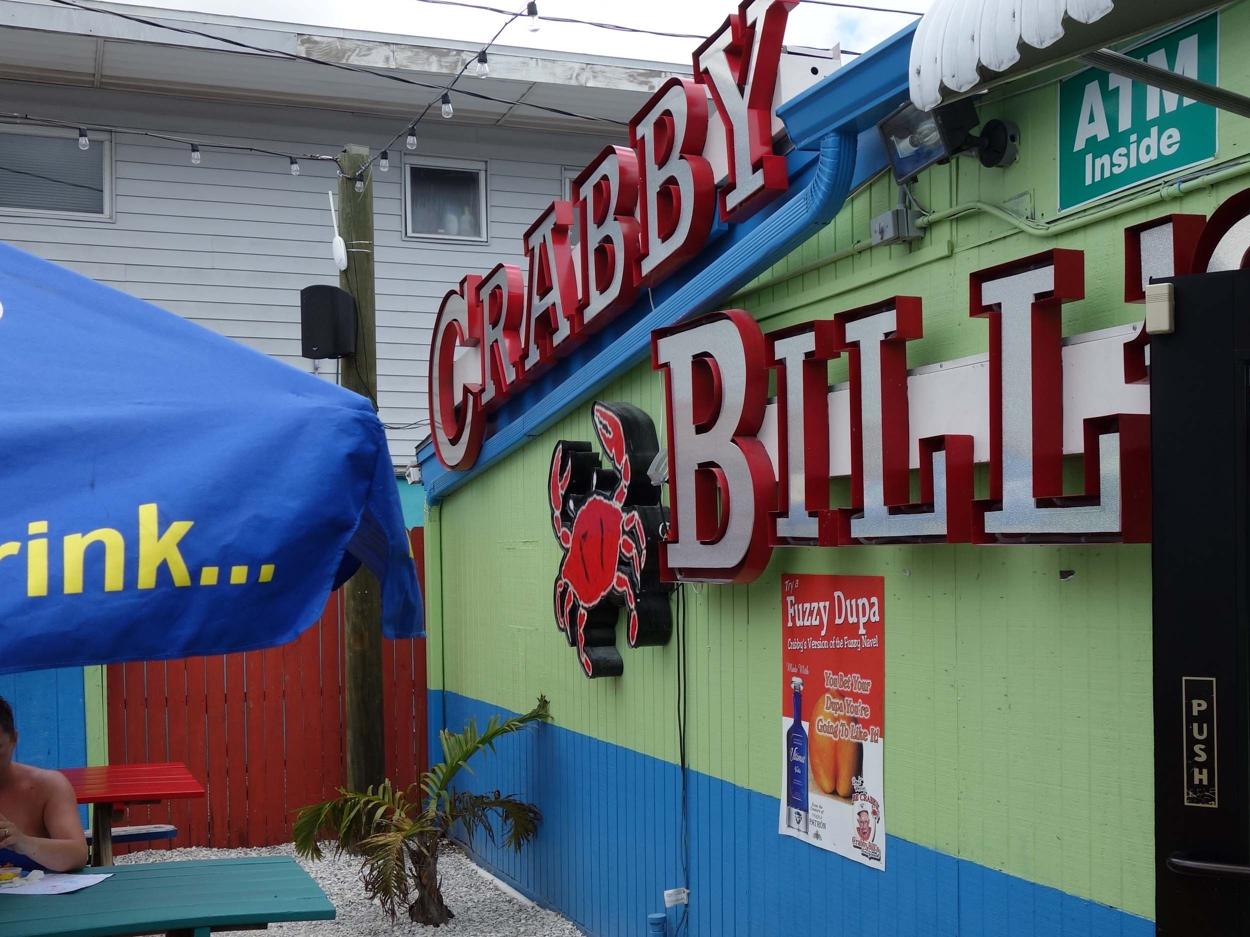 Crabby Bill's Sign