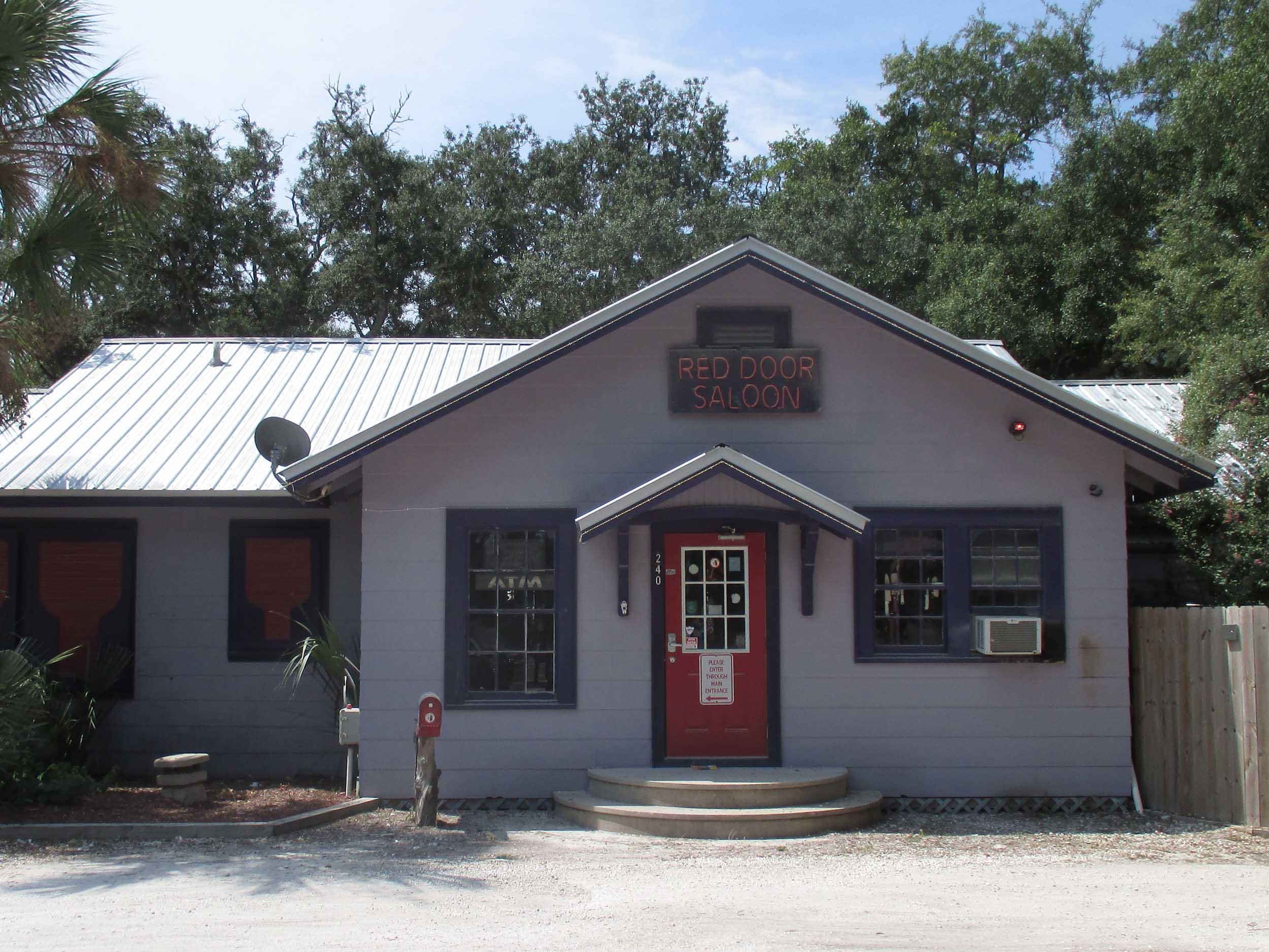 The Red Door Saloon Exterior