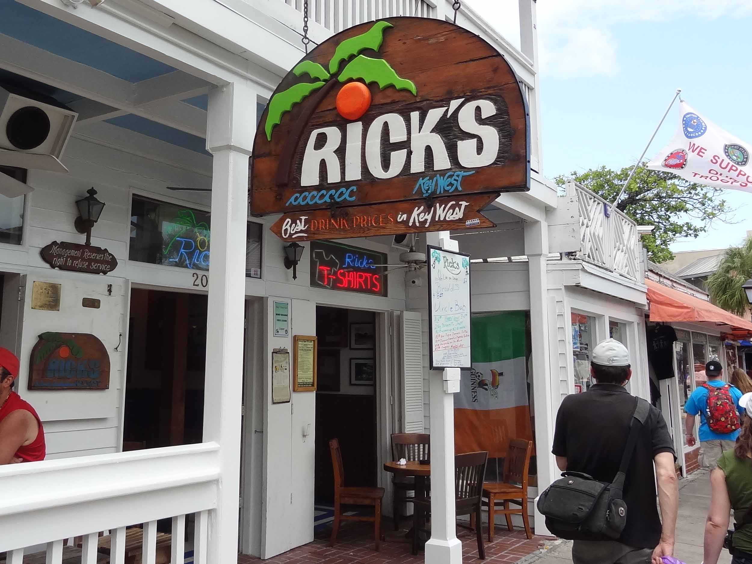 Rick's Bar Entrance