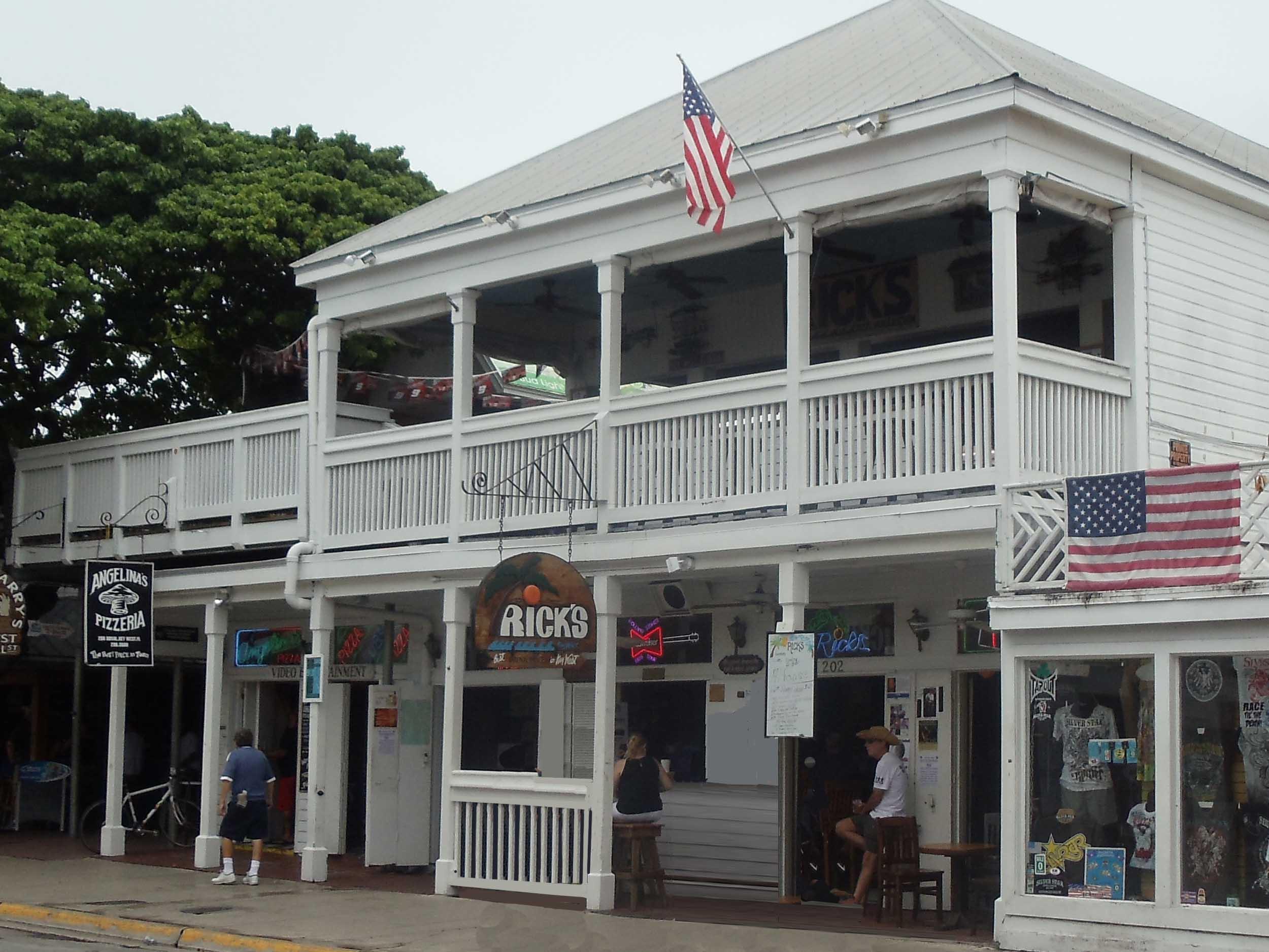 Rick's Bar Exterior