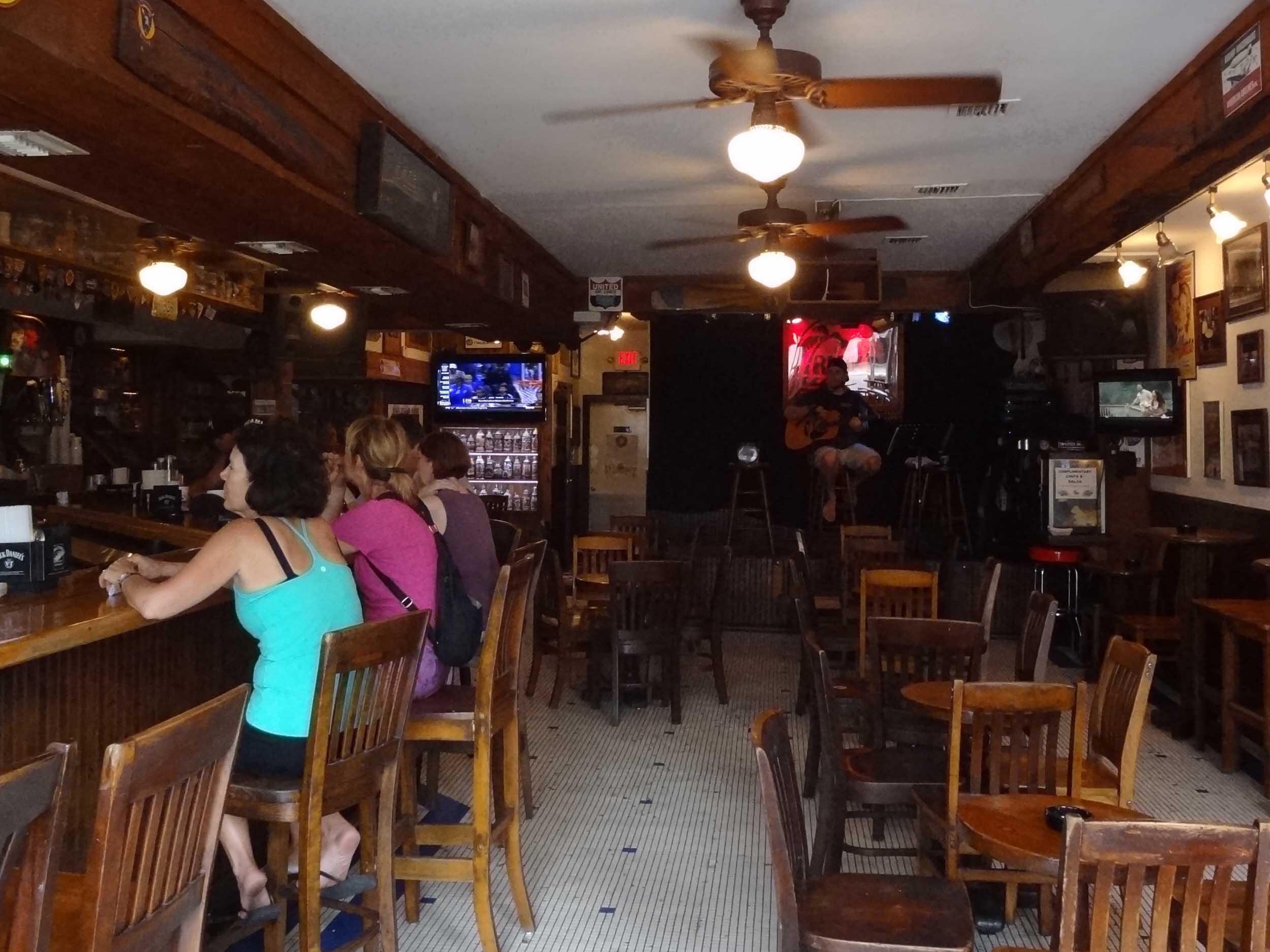 Rick's Bar Interior
