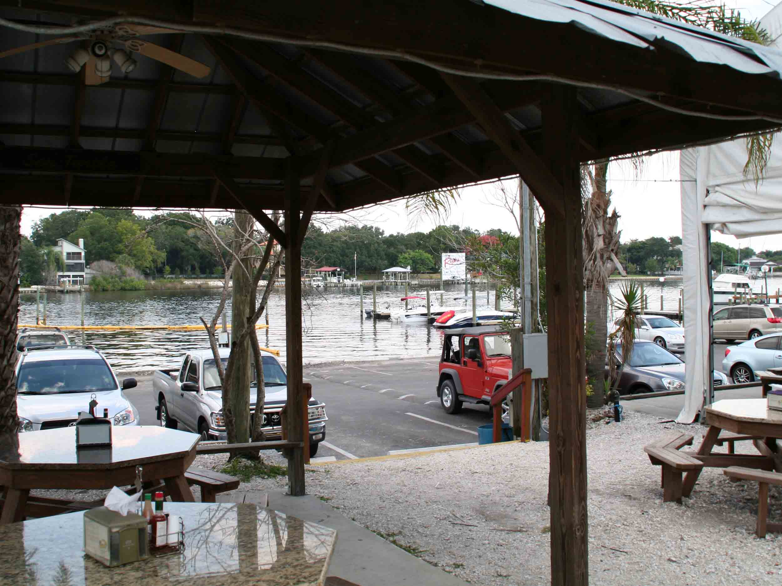 Rick's on the River Water View