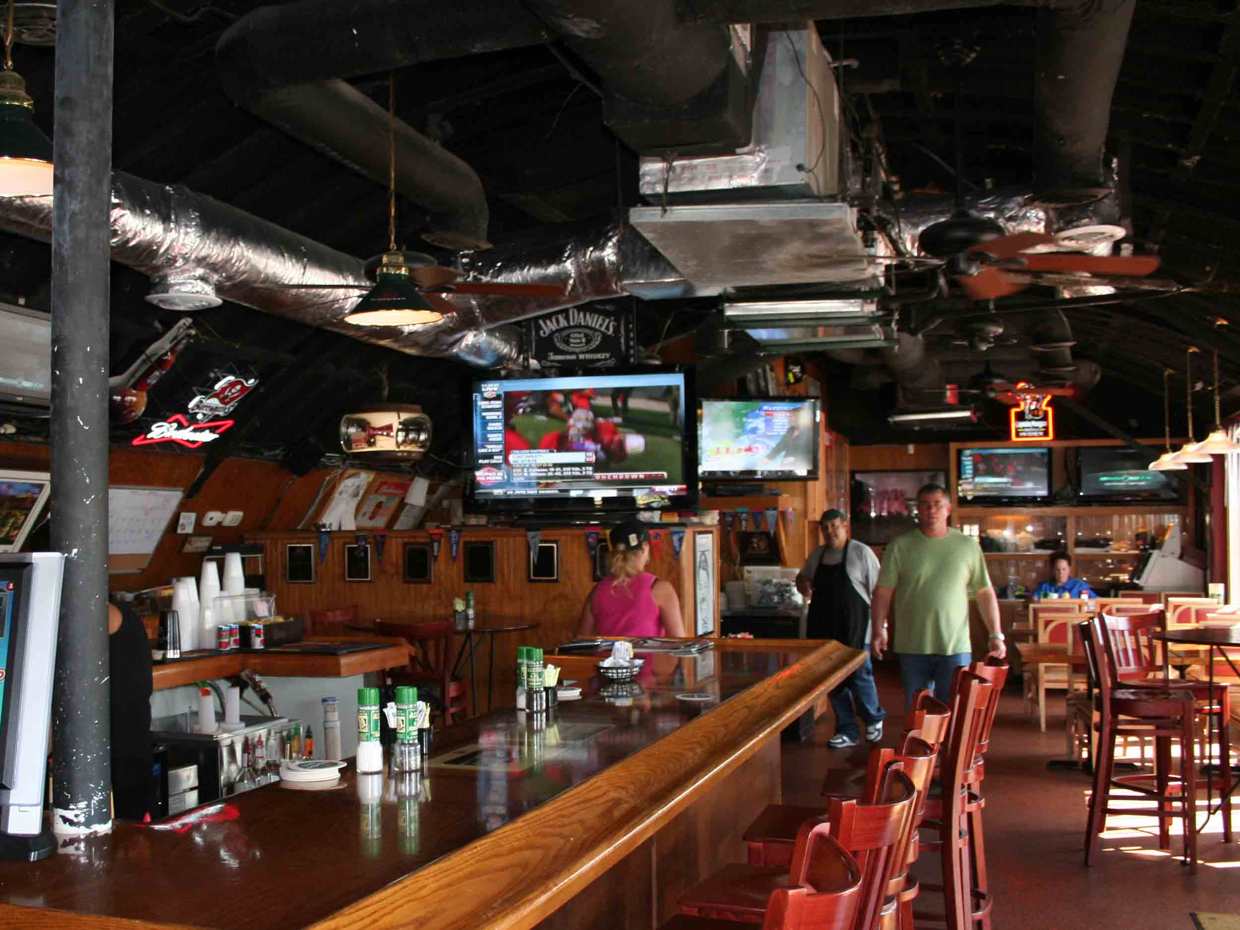 Ricky T's Bar Area
