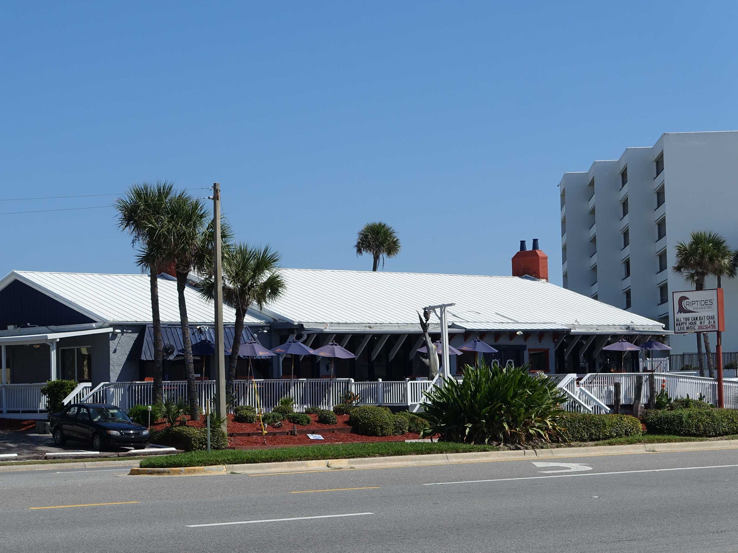 Riptides Raw Bar and Grill Exterior