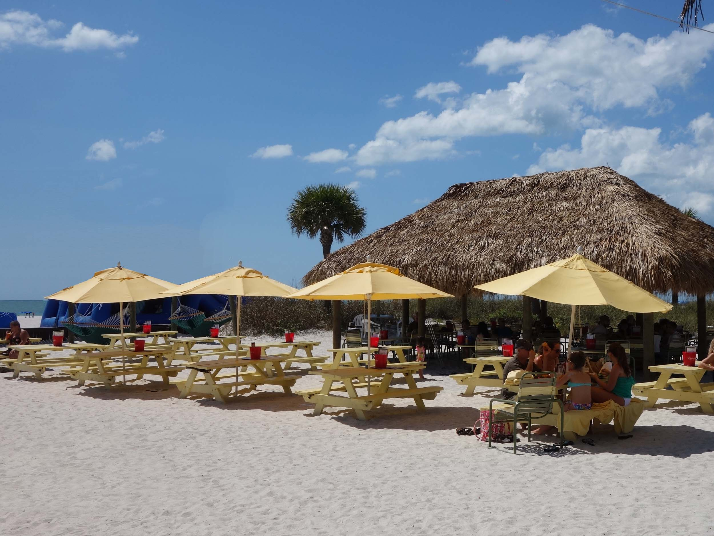 Rumrunners Bar and Grille Outdoor Seating Area