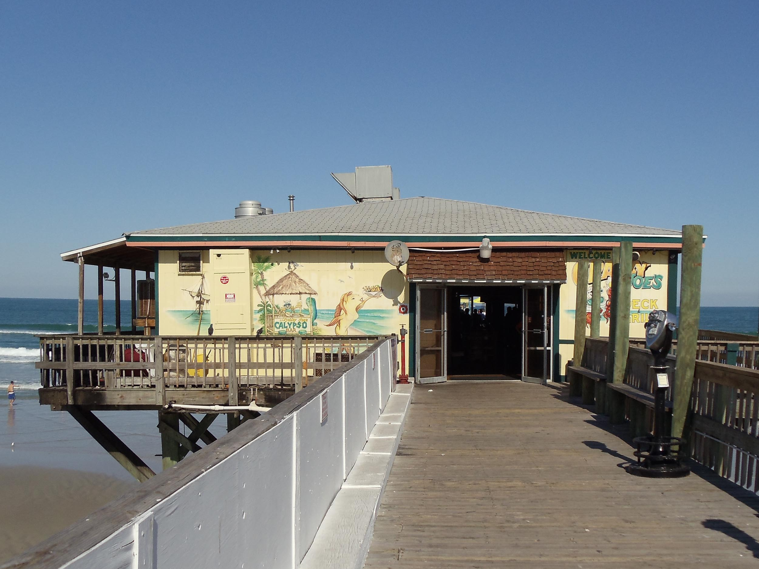 Crabby Joe's Deck and Grill Entrance