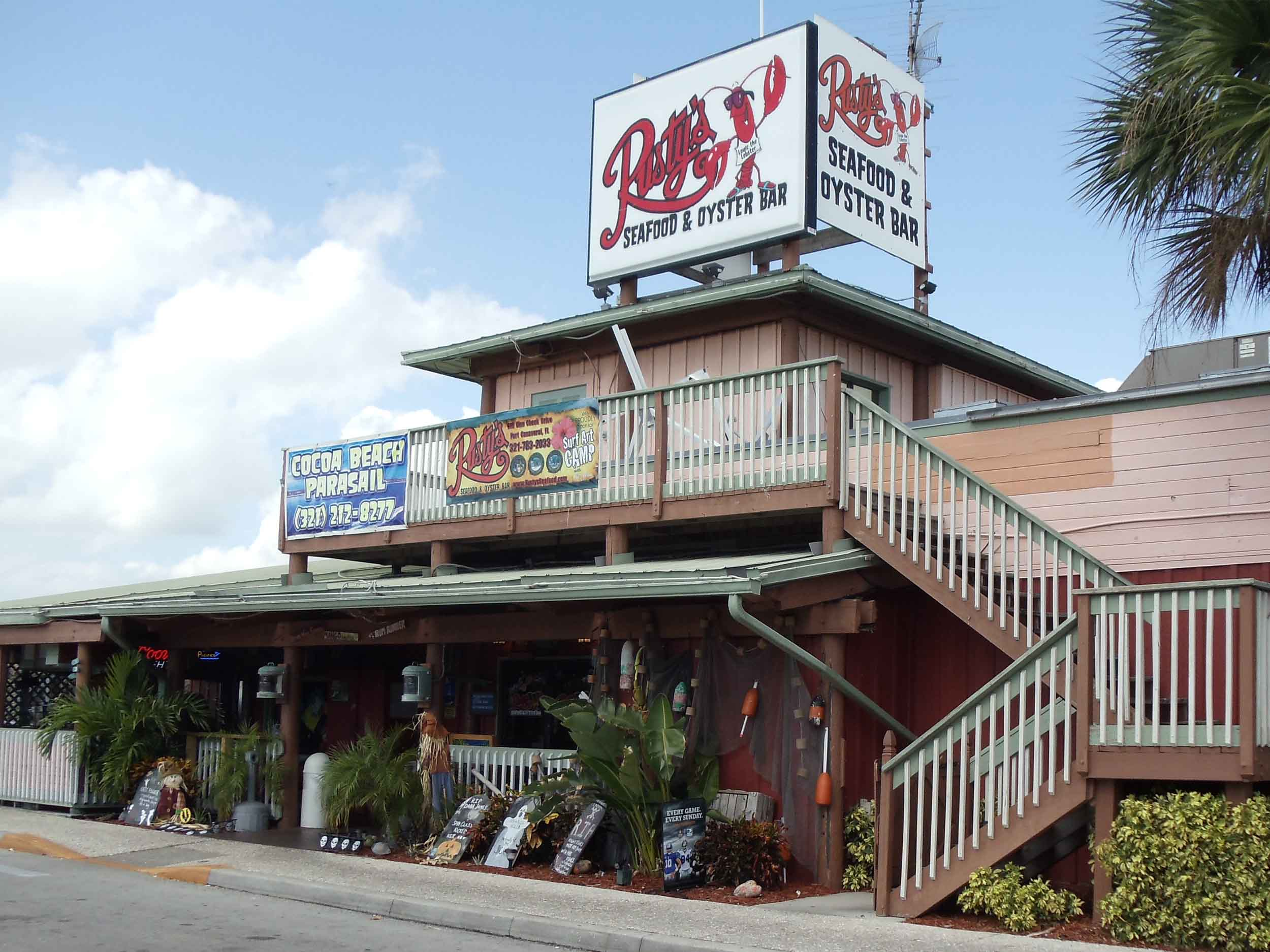 Rusty's Seafood and Oyster Bar Entrance