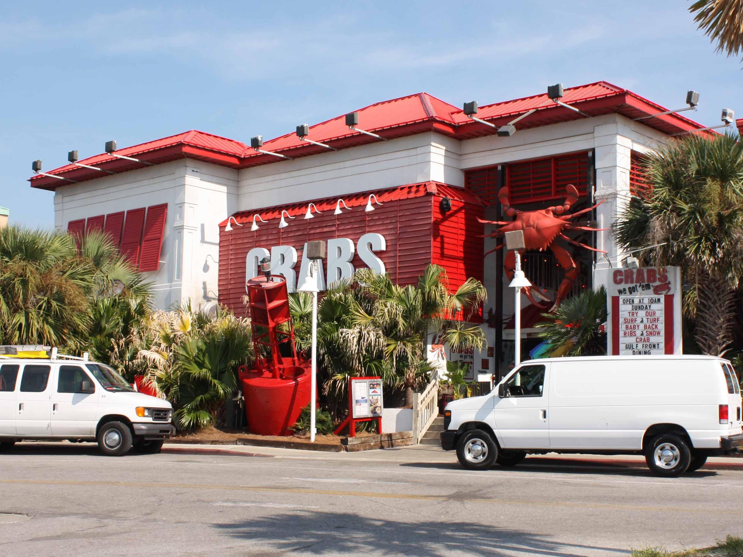 Crabs We Got 'Em Entrance