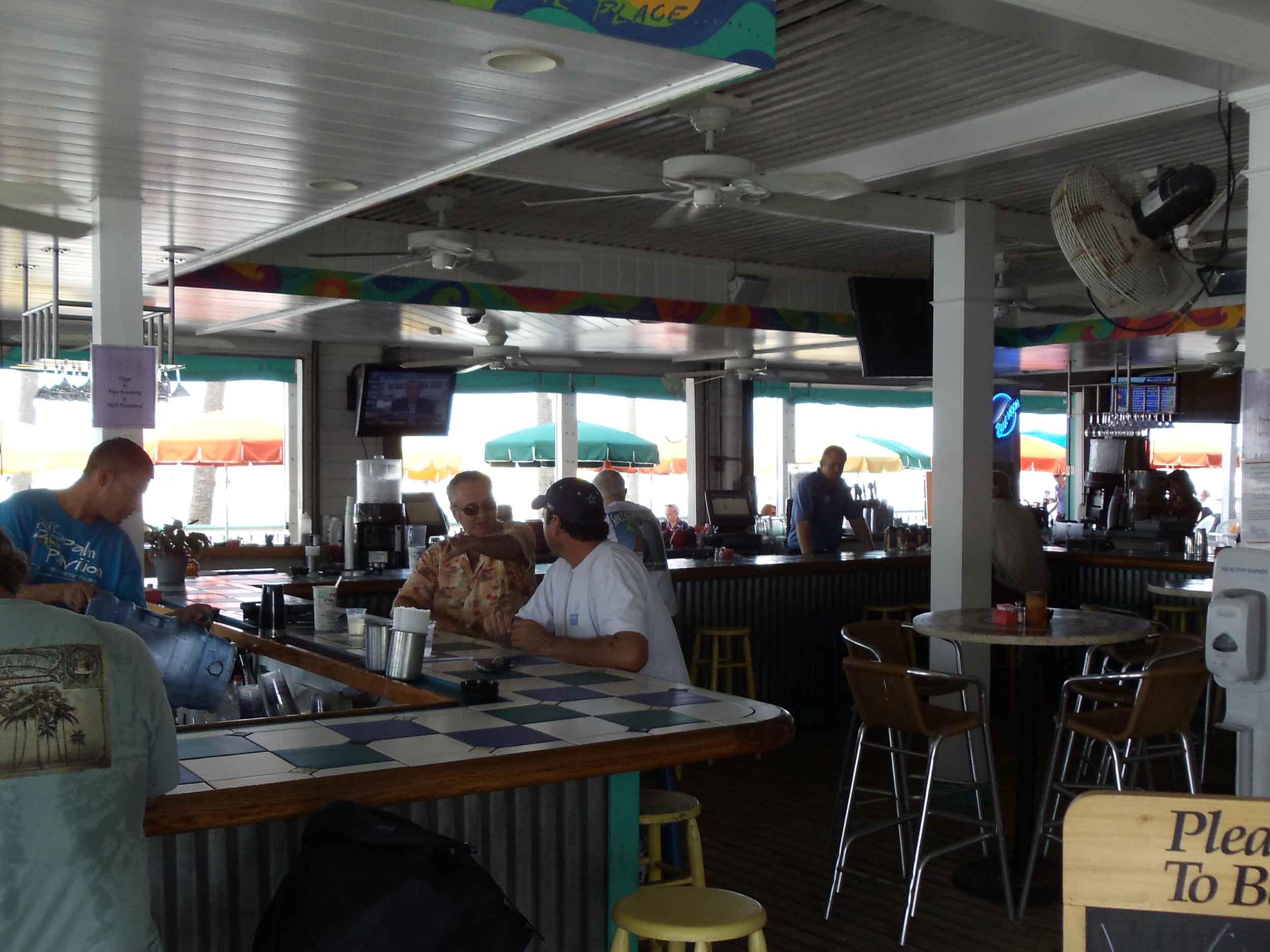 Palm Pavilion Interior Bar Area