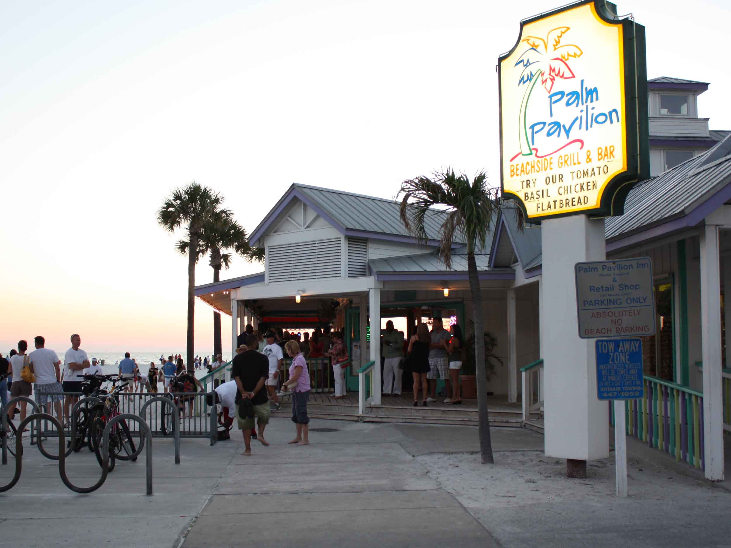 Palm Pavilion Entrance