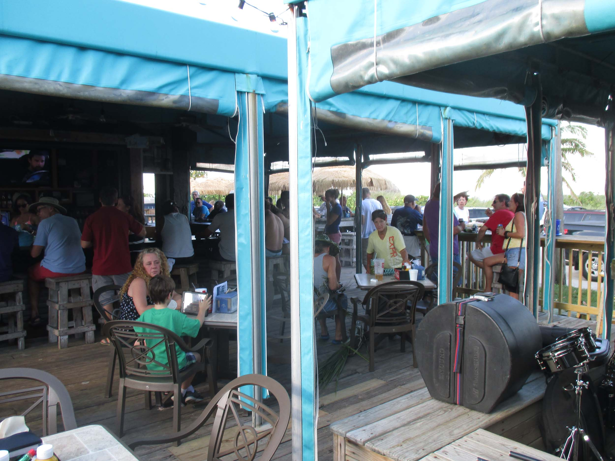 Dania Beach Bar Patio