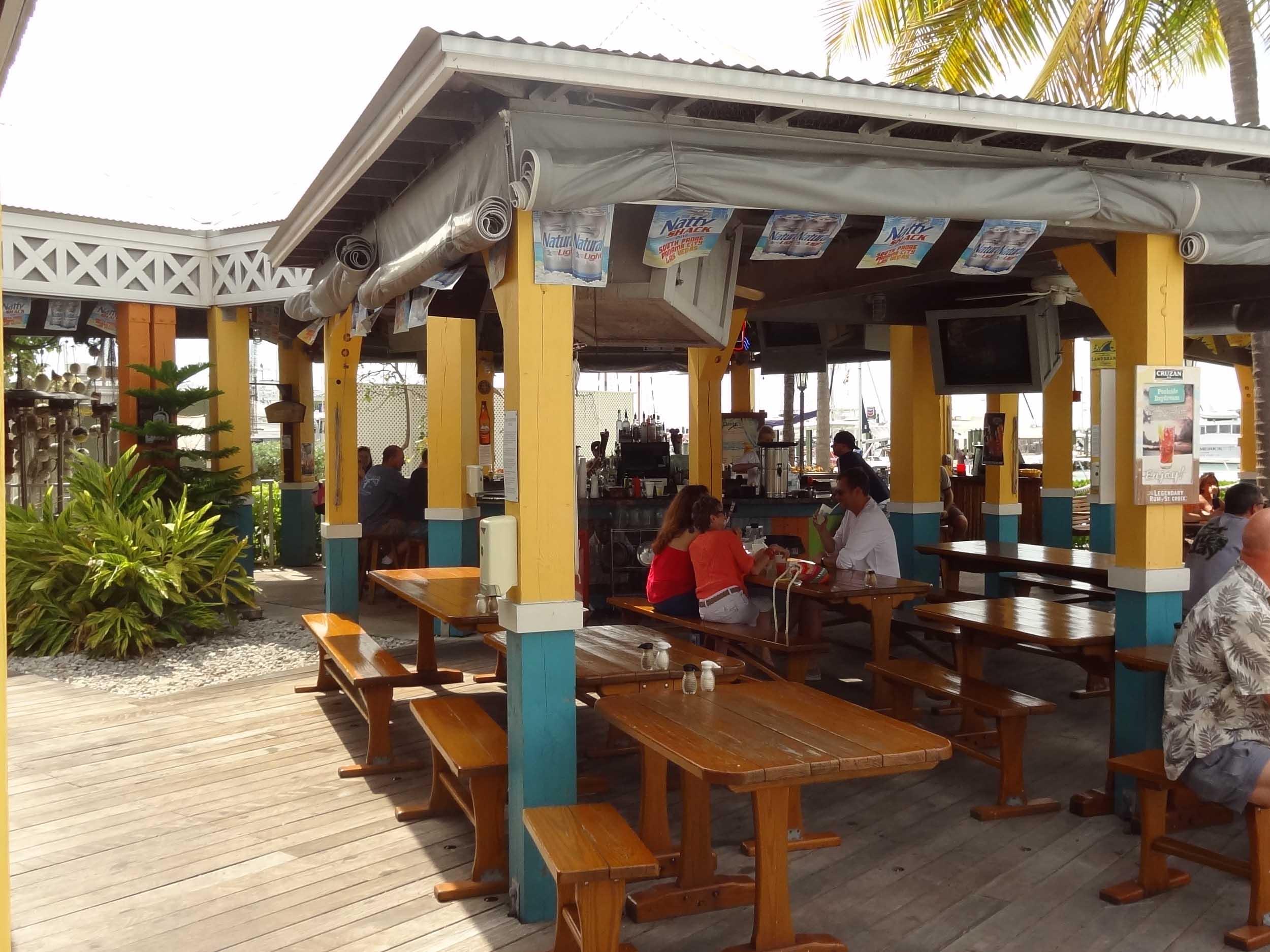 Dante's Key West Seating Area