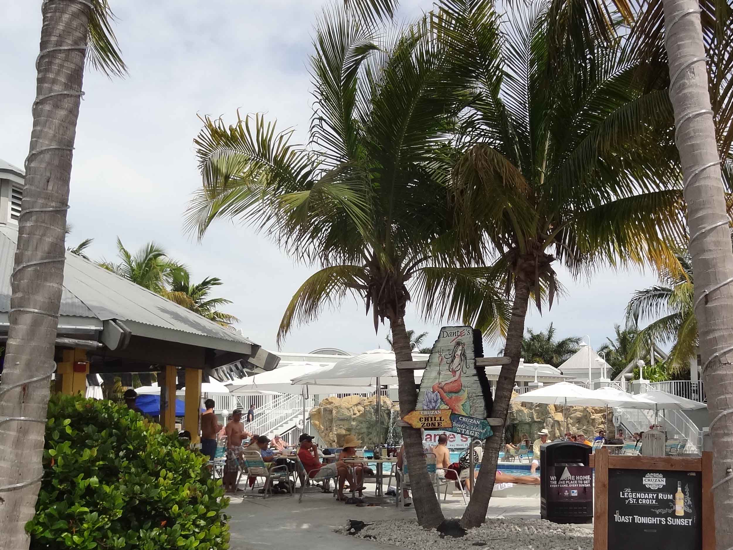 Dante's Key West Entrance