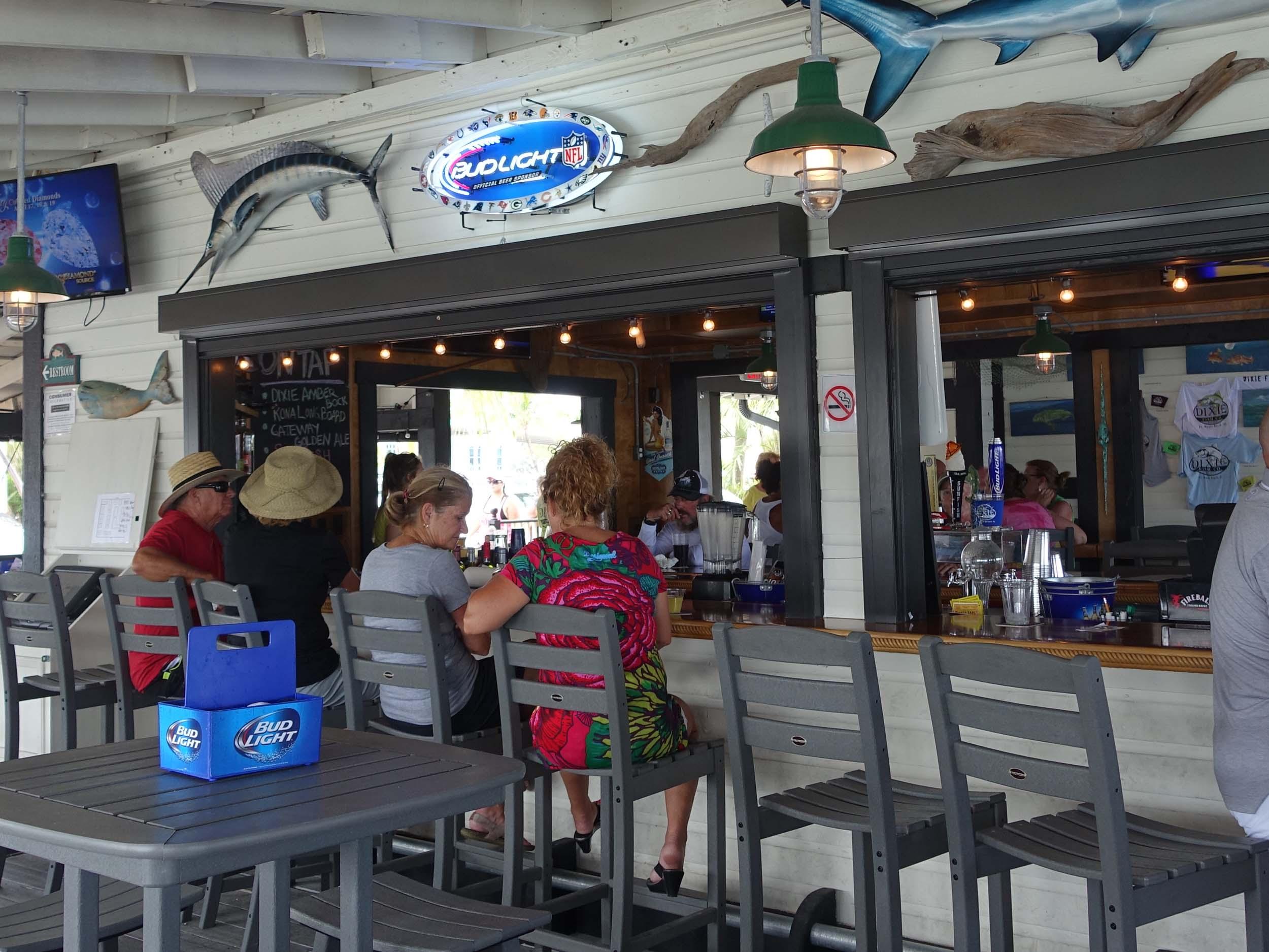 Dixie Fish Company Exterior Bar
