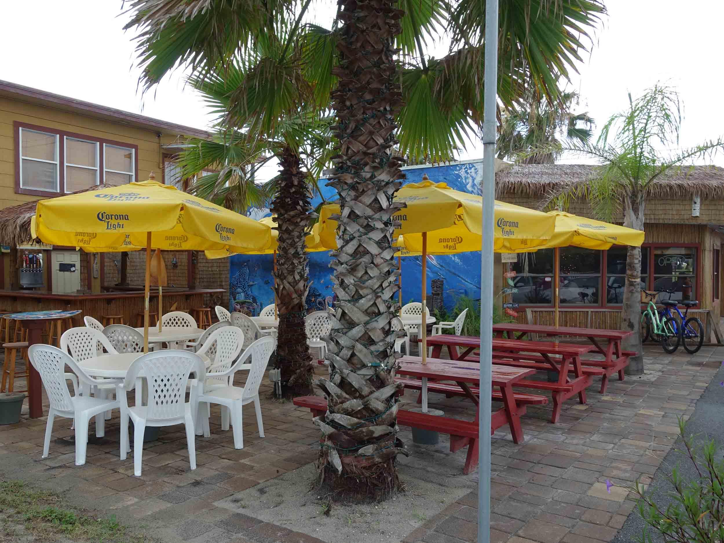 Paula's Beachside Grill Dining Area