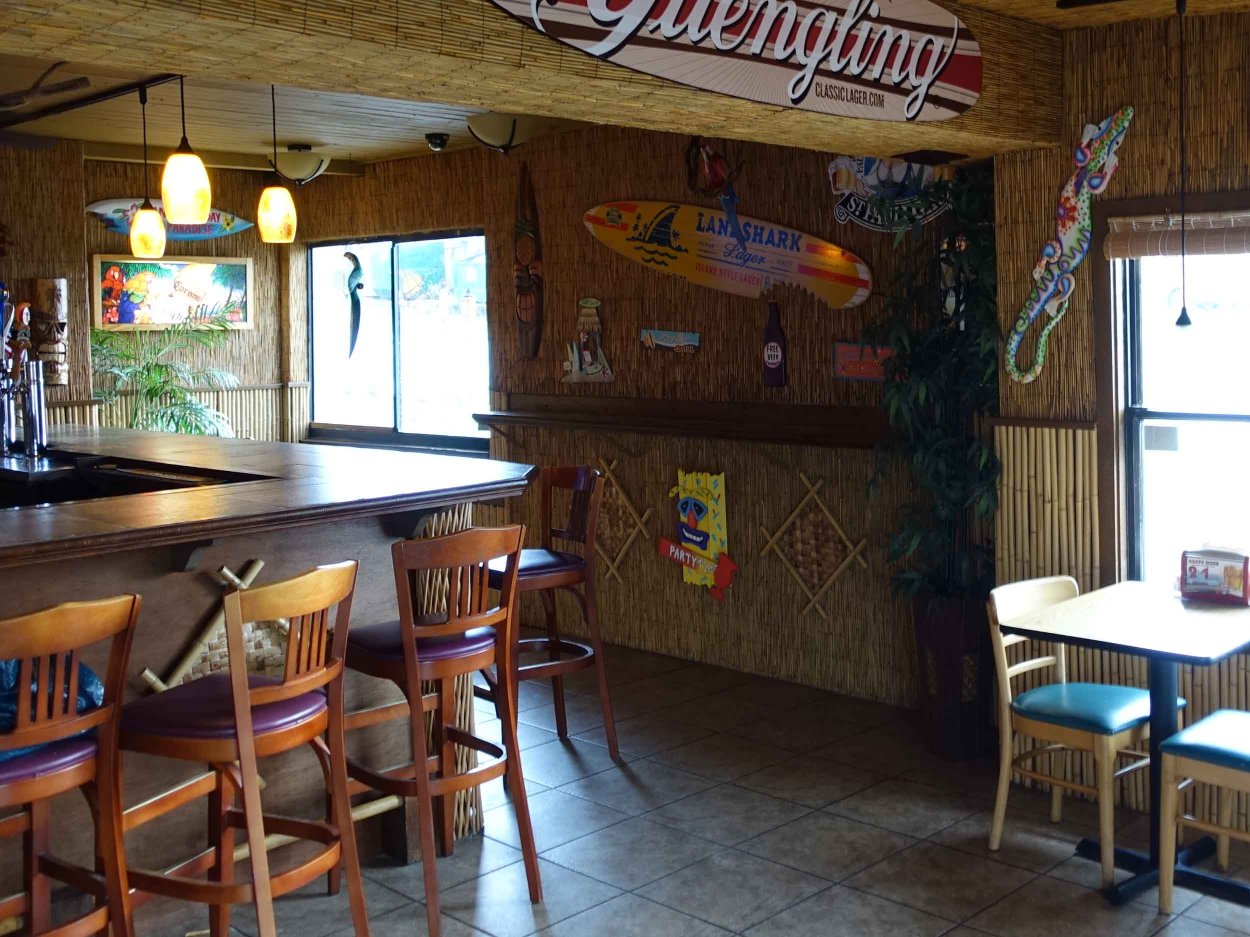 Paula's Beachside Grill Interior