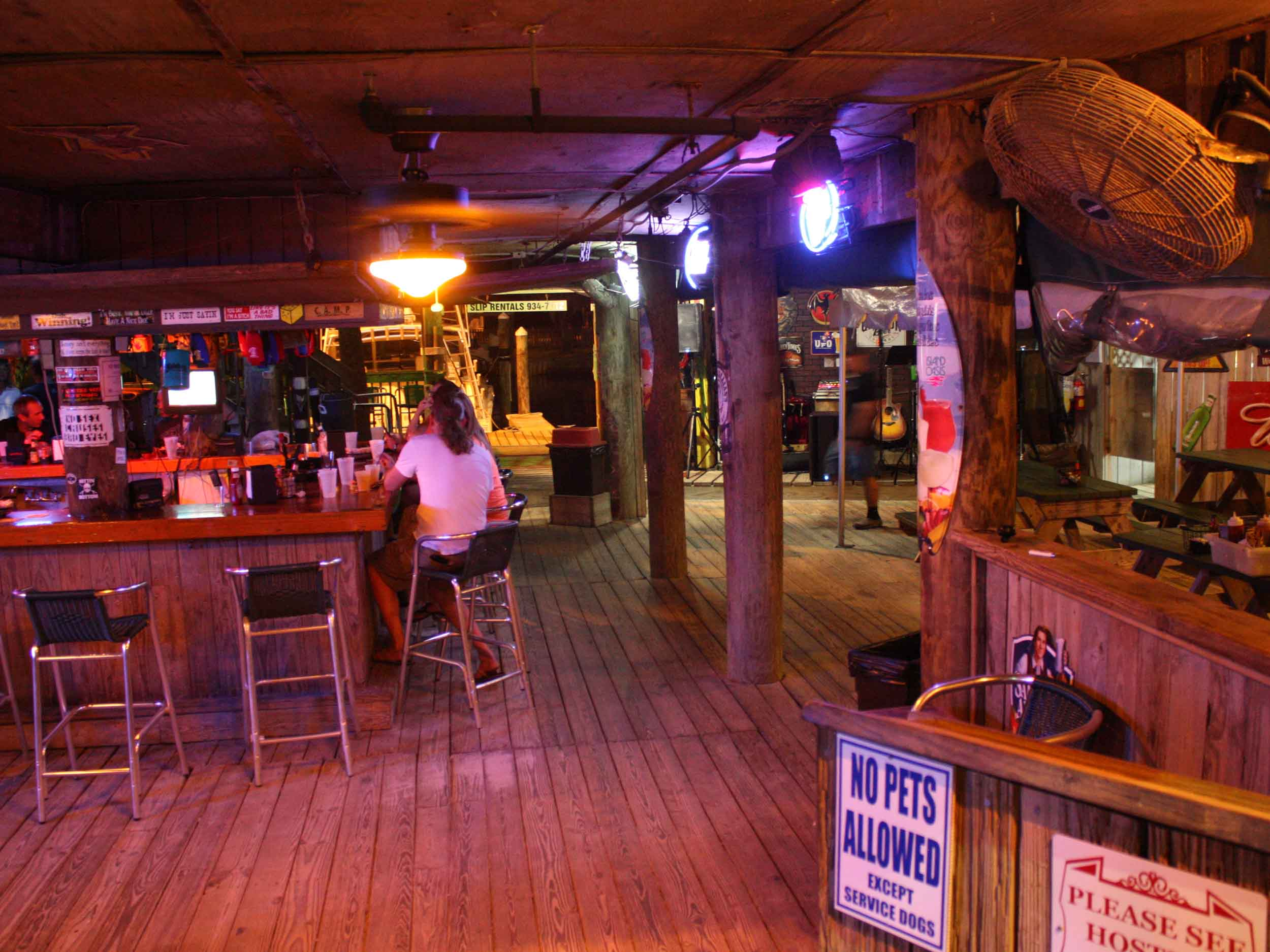 Peg Leg Pete's Oyster Bar Interior