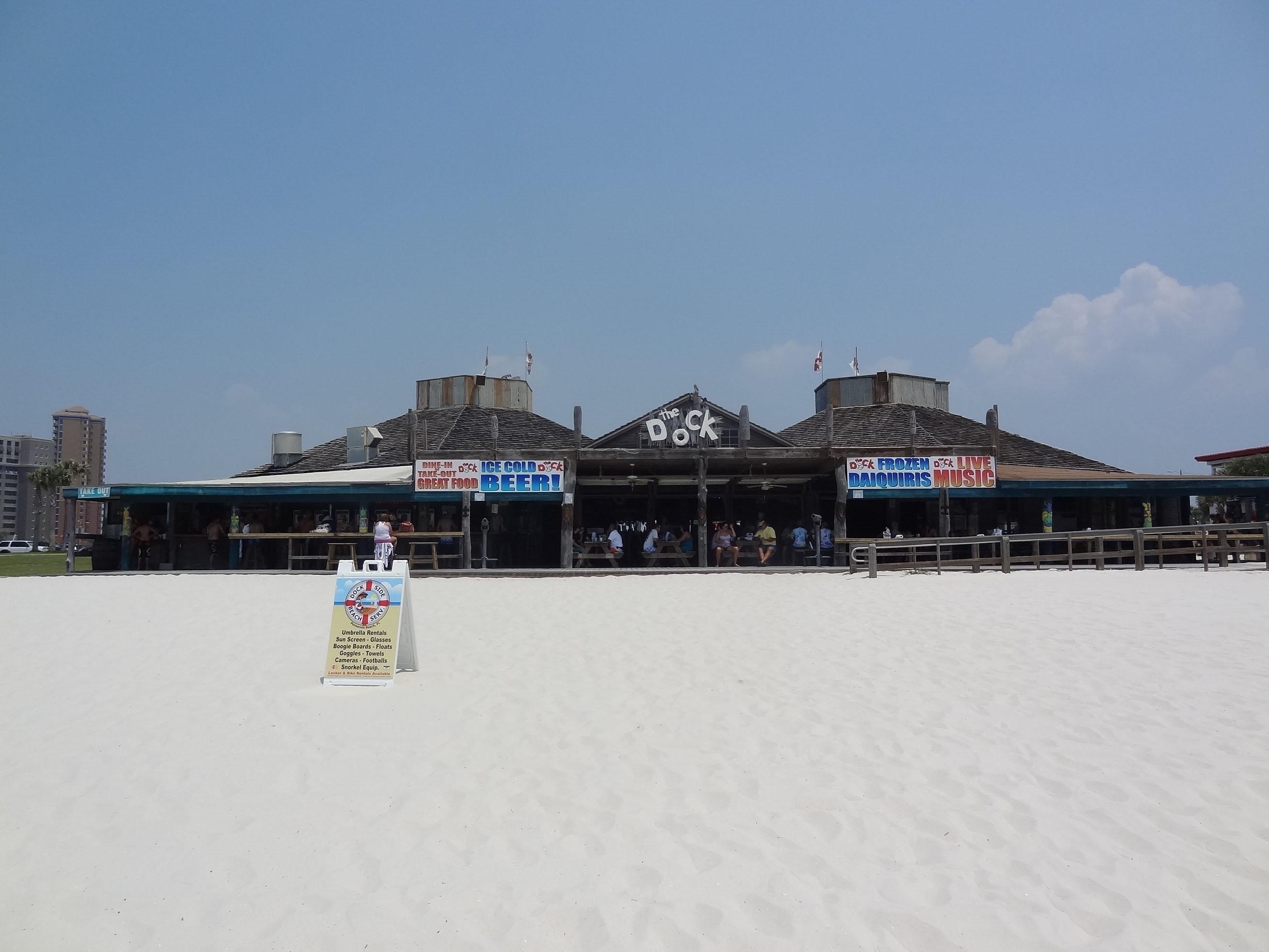 The Dock Beach Side