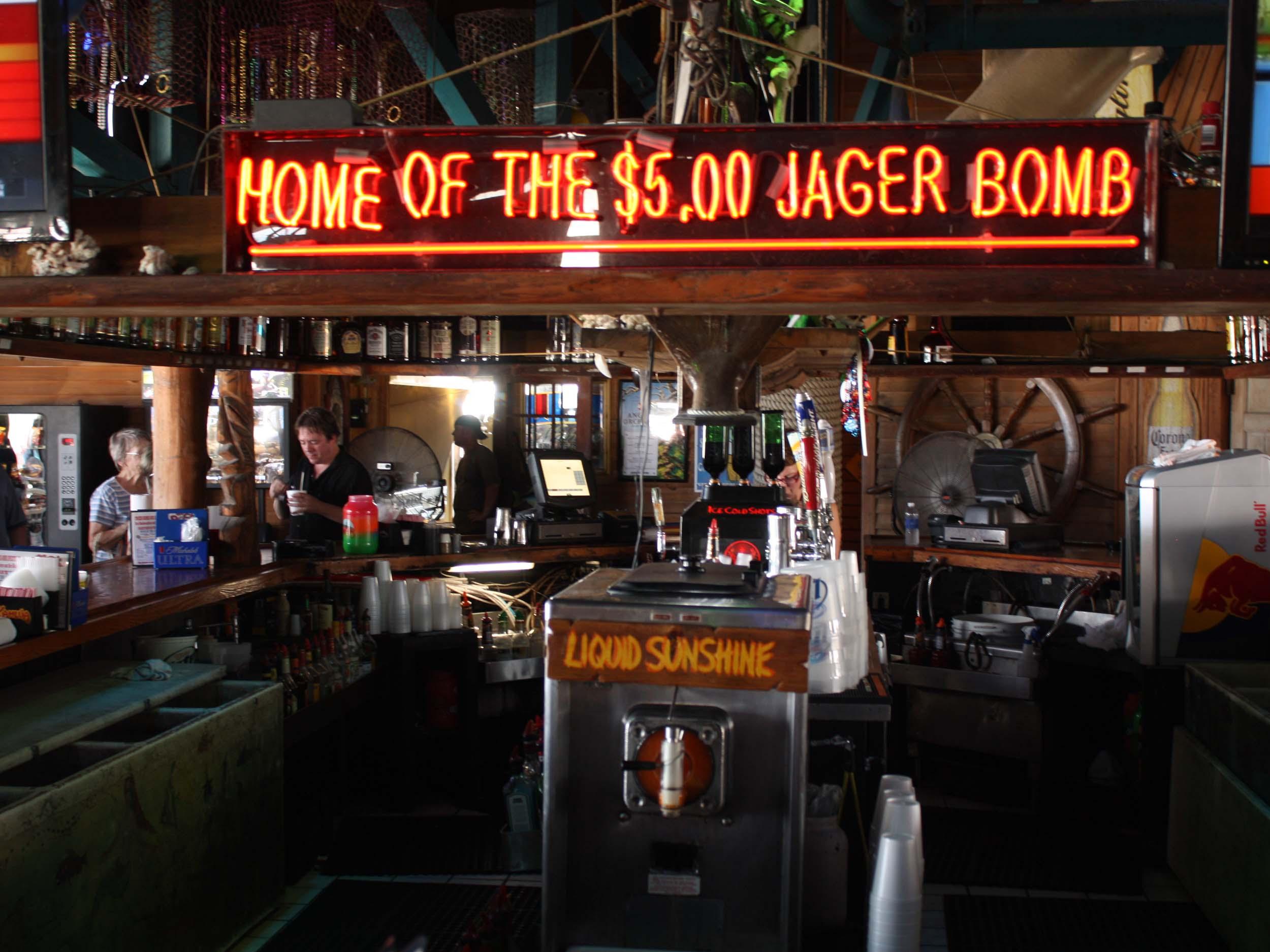 The Dock Interior Bar