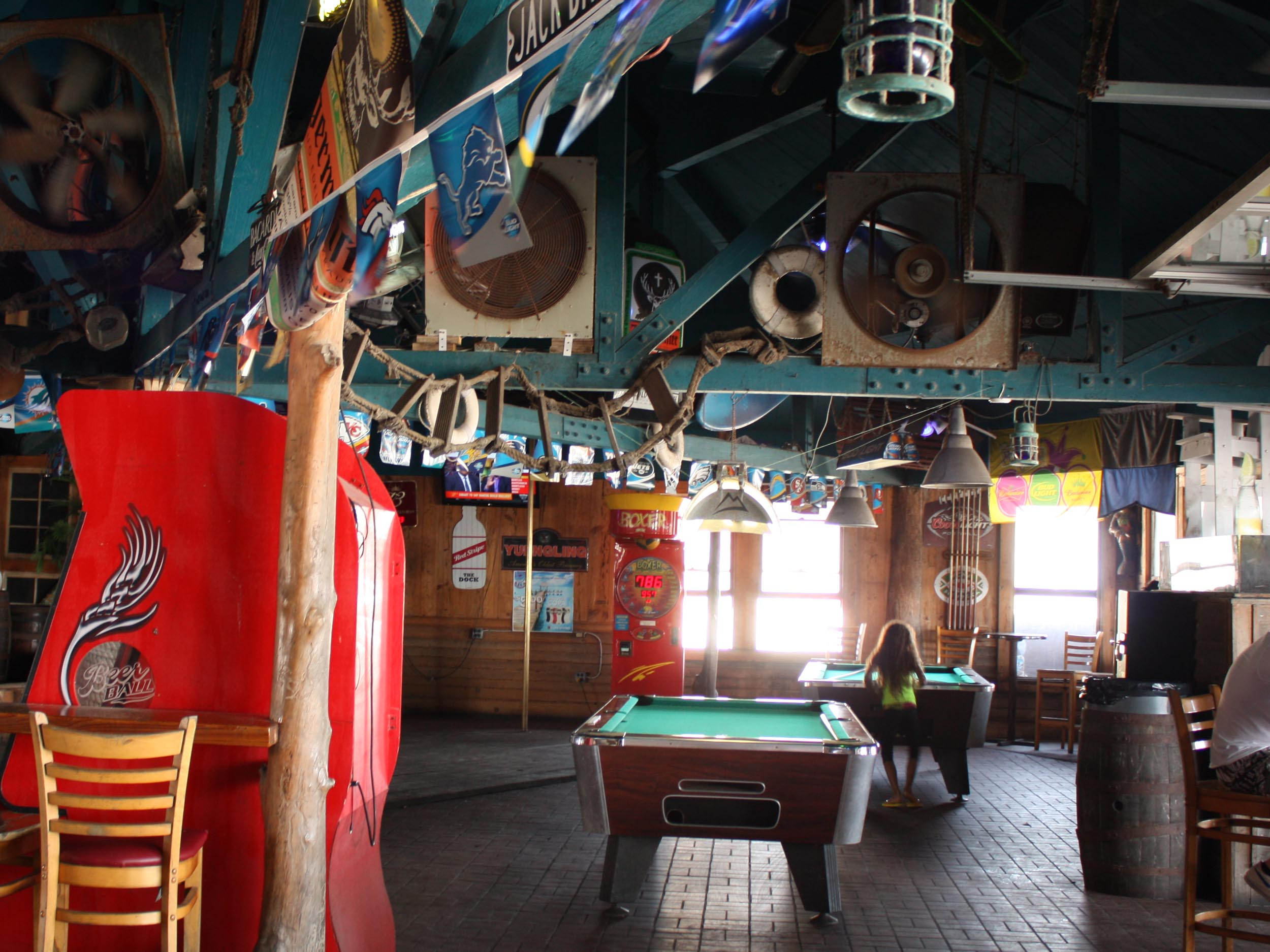 The Dock Interior