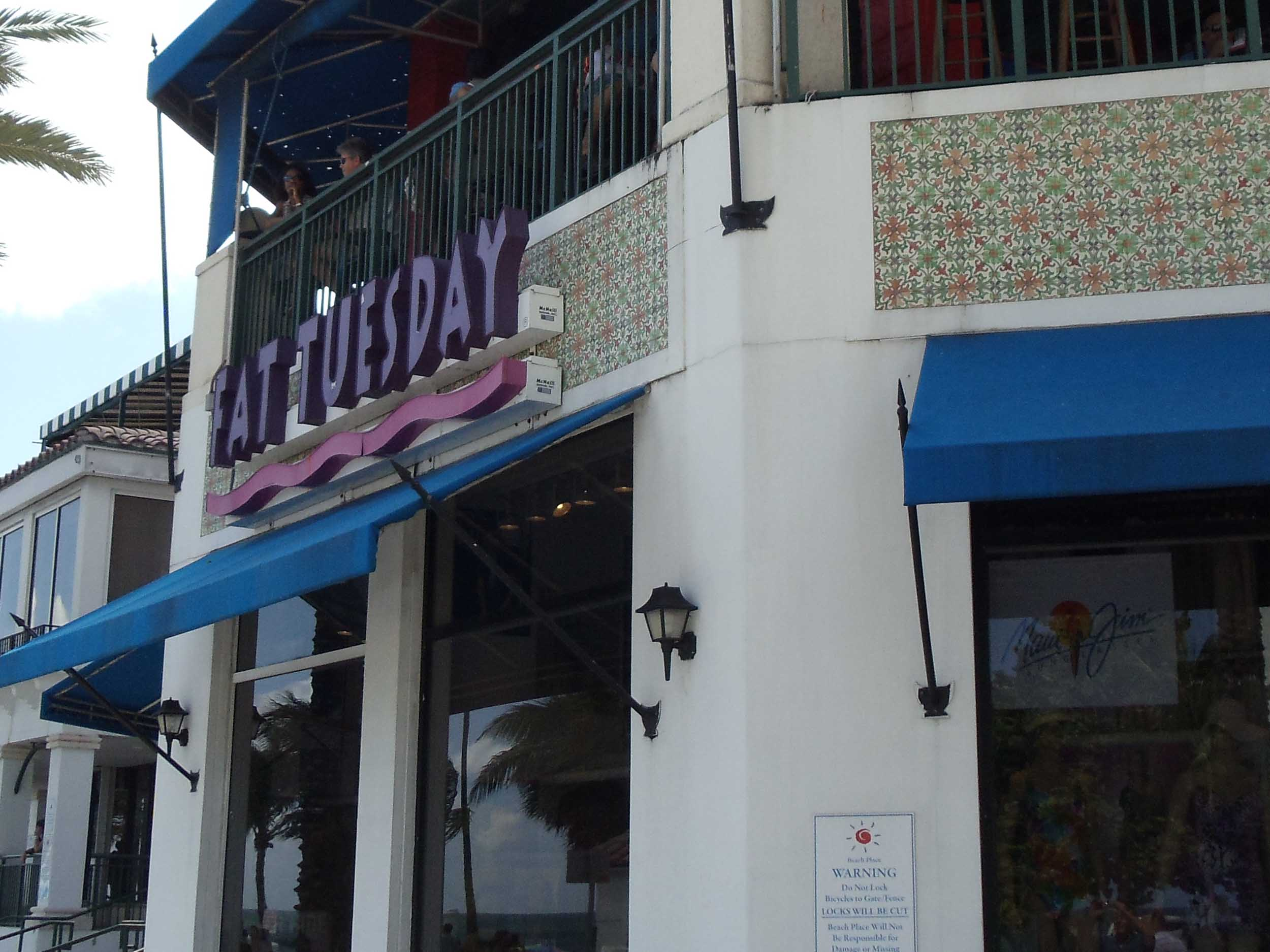 Fat Tuesday Entrance