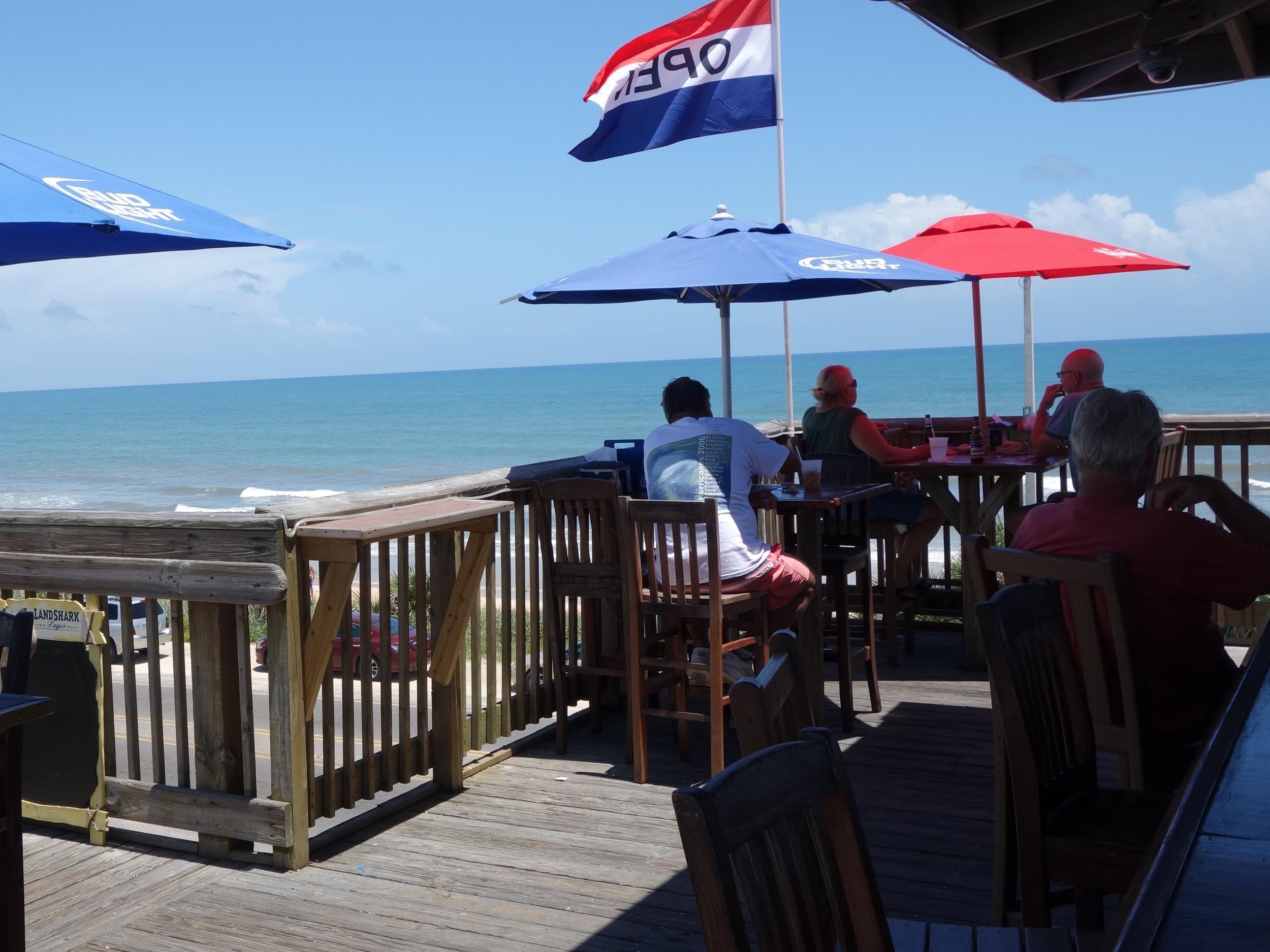 Finn's Beachside Pub View
